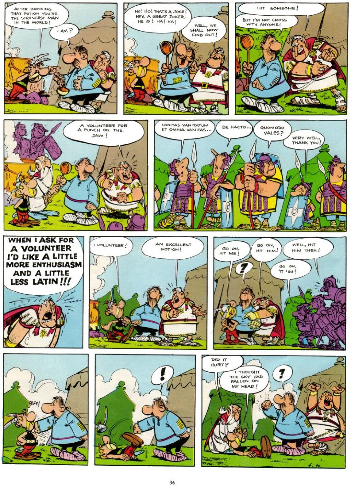 Read online Asterix comic -  Issue #1 - 36