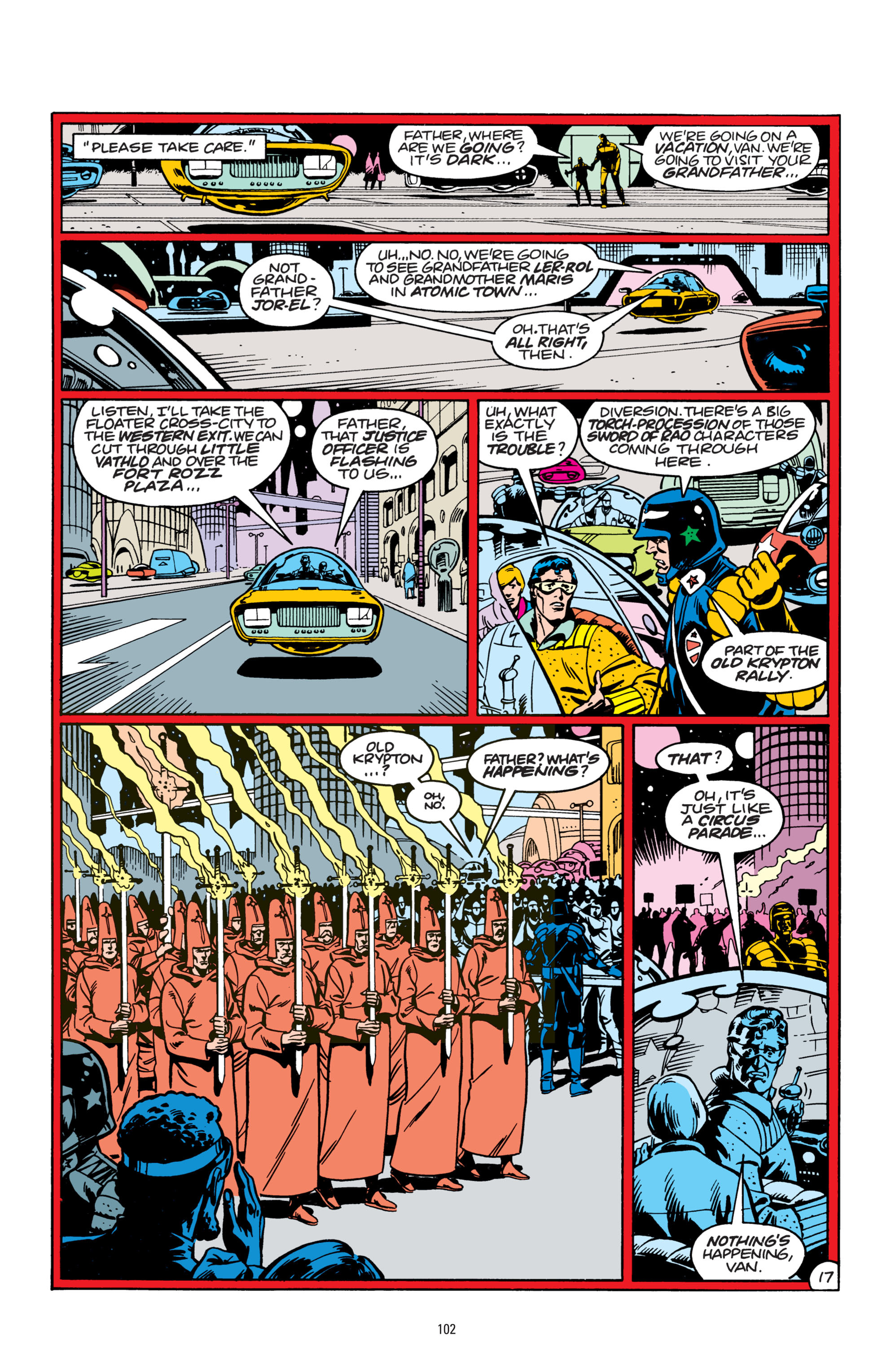 Read online Superman: Whatever Happened to the Man of Tomorrow? comic -  Issue # TPB - 101