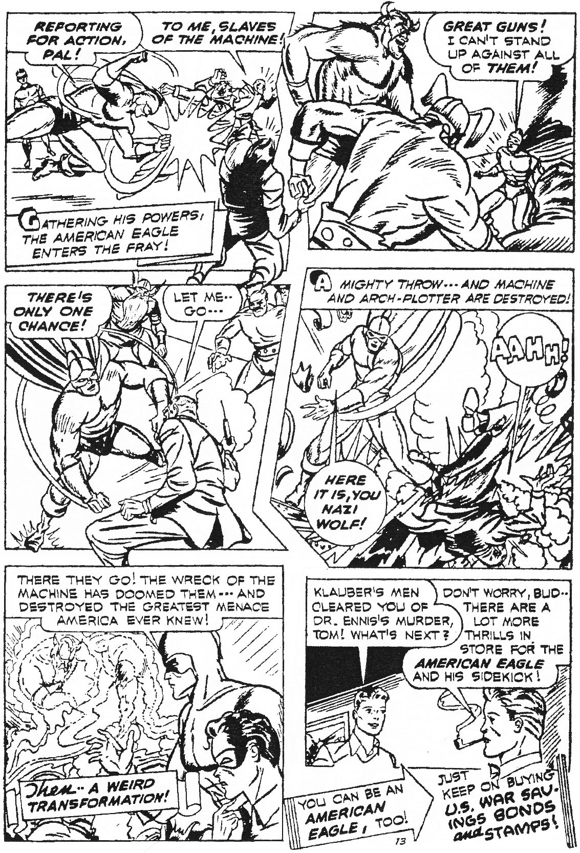 Read online Men of Mystery Comics comic -  Issue #84 - 94