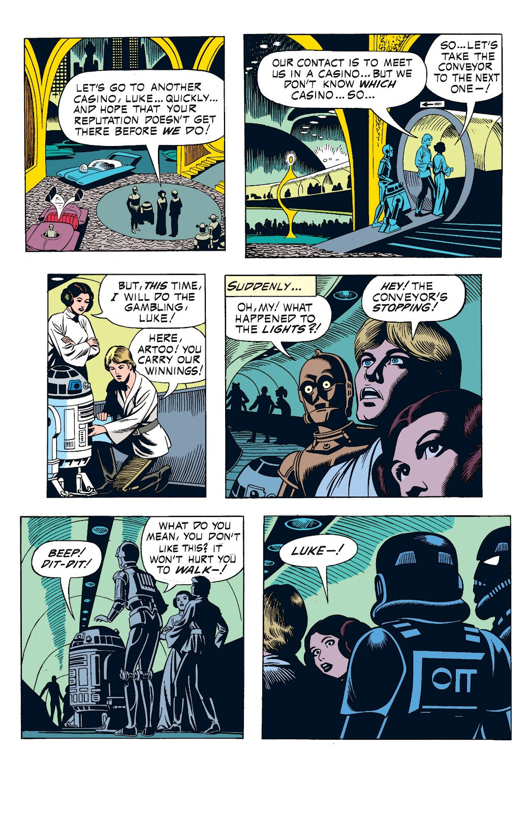 Read online Star Wars Legends: The Newspaper Strips - Epic Collection comic -  Issue # TPB (Part 1) - 49