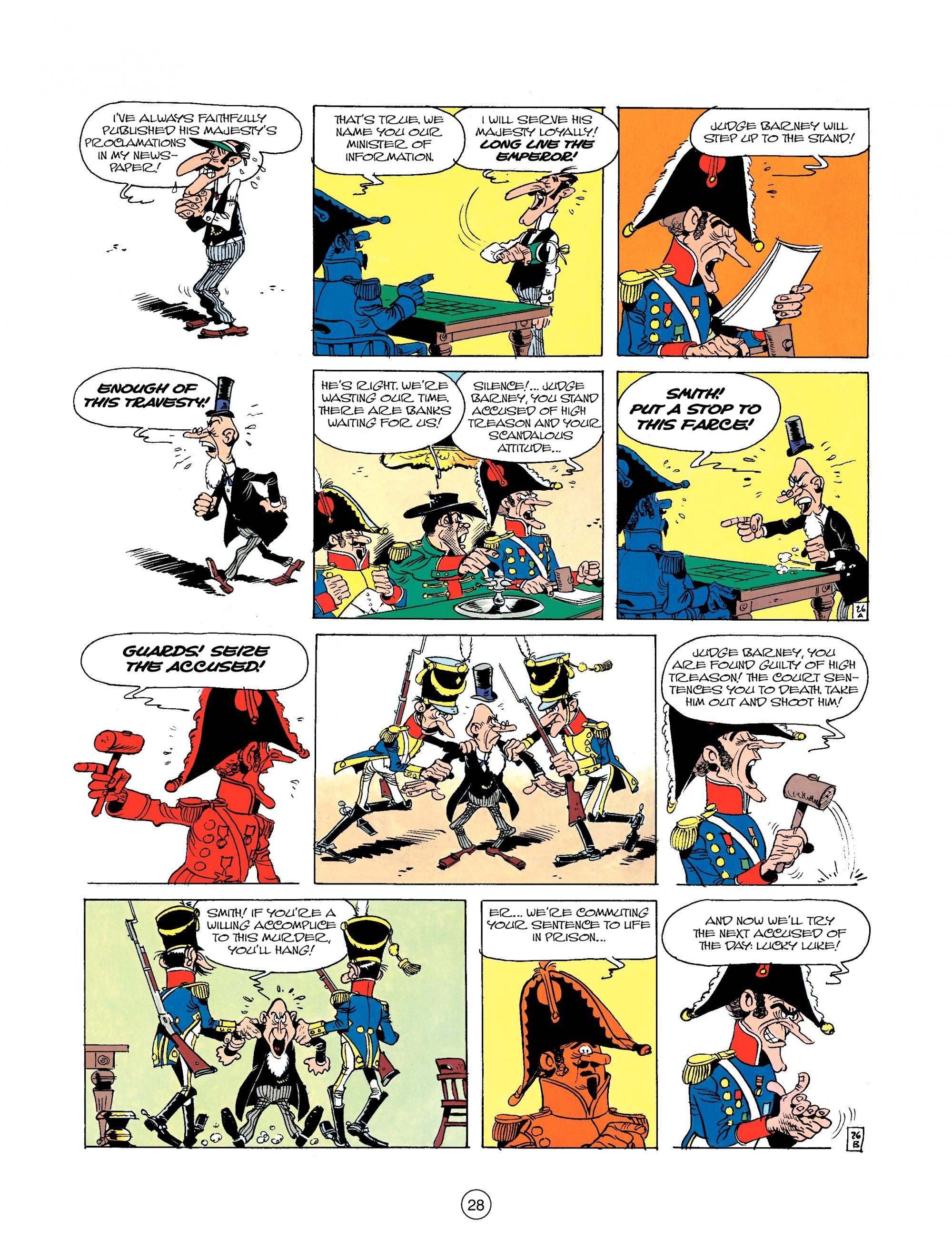 Read online A Lucky Luke Adventure comic -  Issue #22 - 28