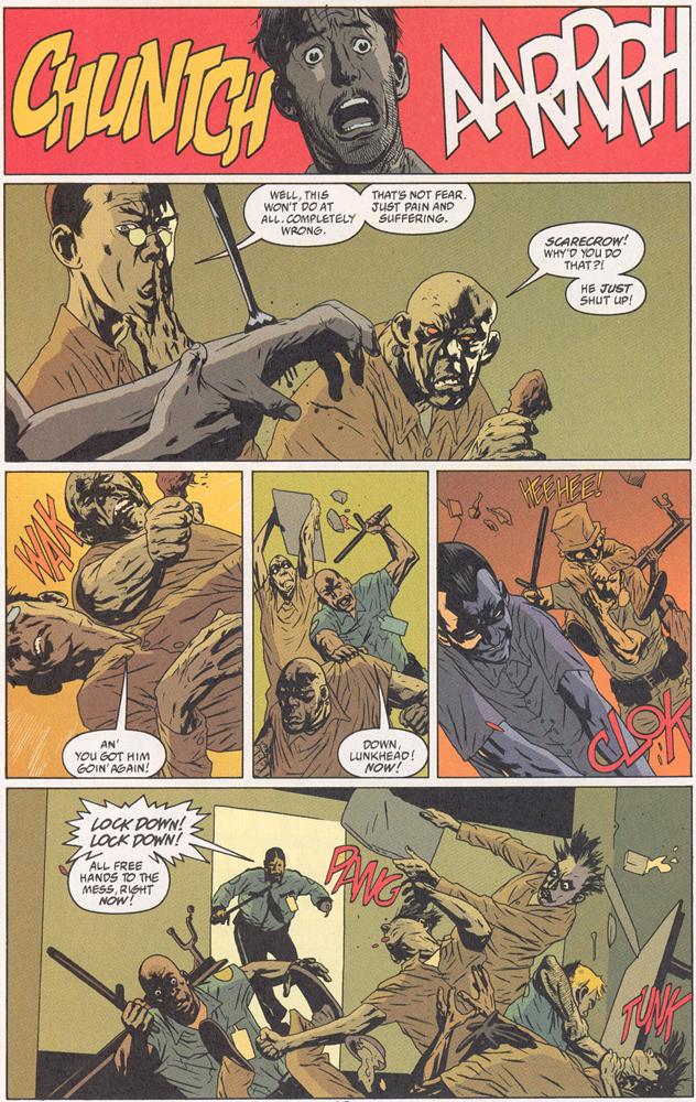 Read online Arkham Asylum: Living Hell comic -  Issue #2 - 11