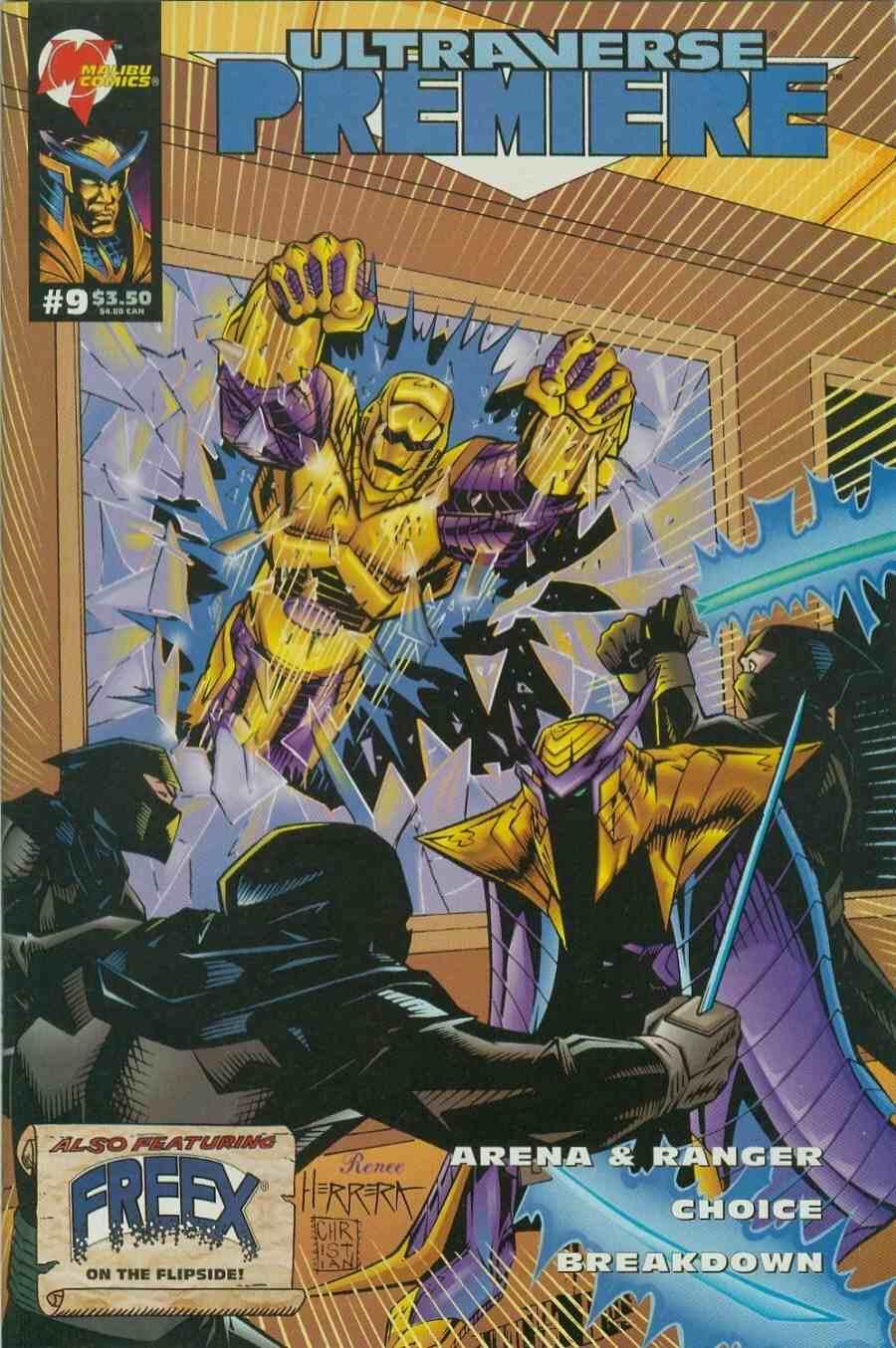 Read online Ultraverse Premiere comic -  Issue #9 - 1