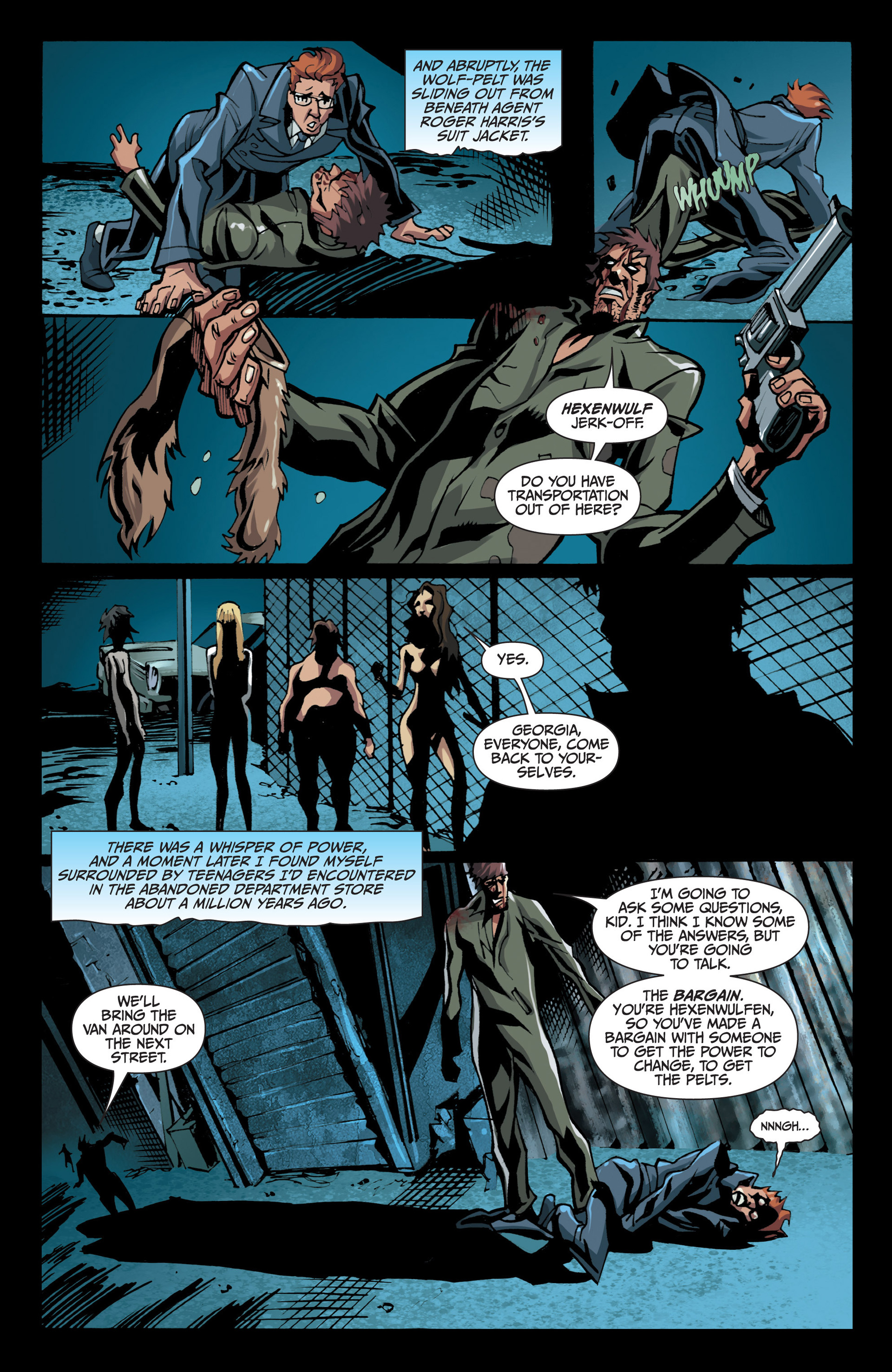Read online Jim Butcher's The Dresden Files: Fool Moon comic -  Issue #7 - 11