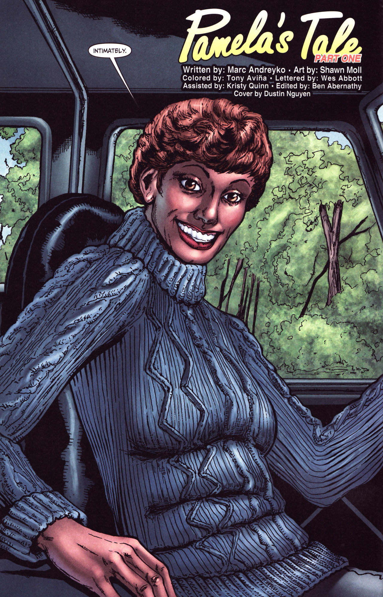 Read online Friday the 13th: Pamela's Tale comic -  Issue #1 - 6