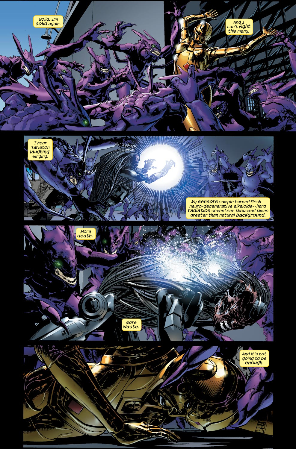 Read online Ultimate Vision comic -  Issue #4 - 22
