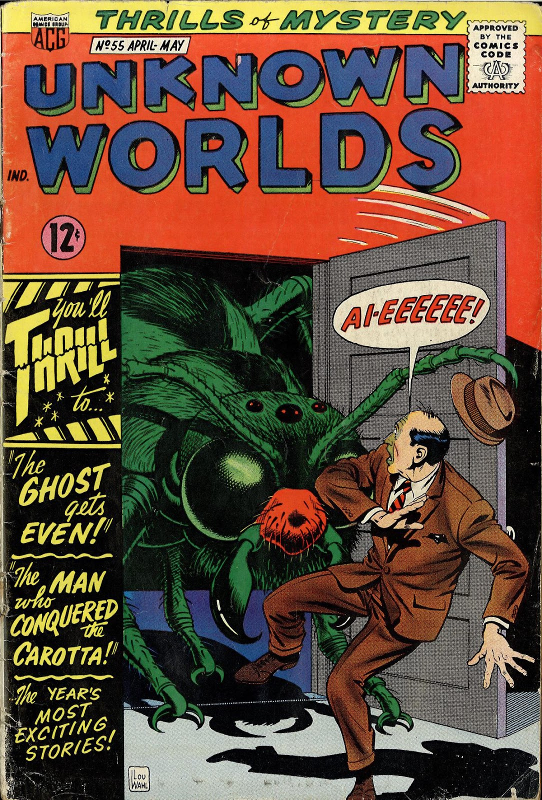 Unknown Worlds 55 Page 1
