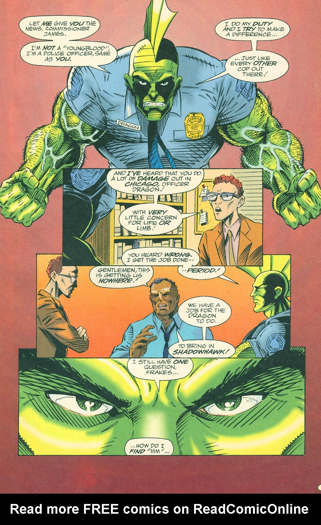 Read online ShadowHawk comic -  Issue #4 - 6