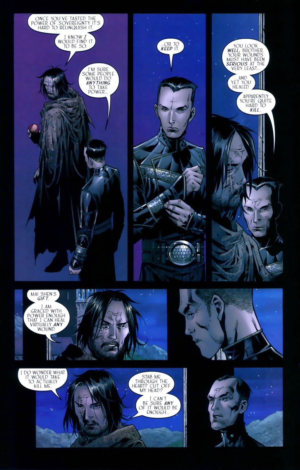 Read online Scion comic -  Issue #31 - 17