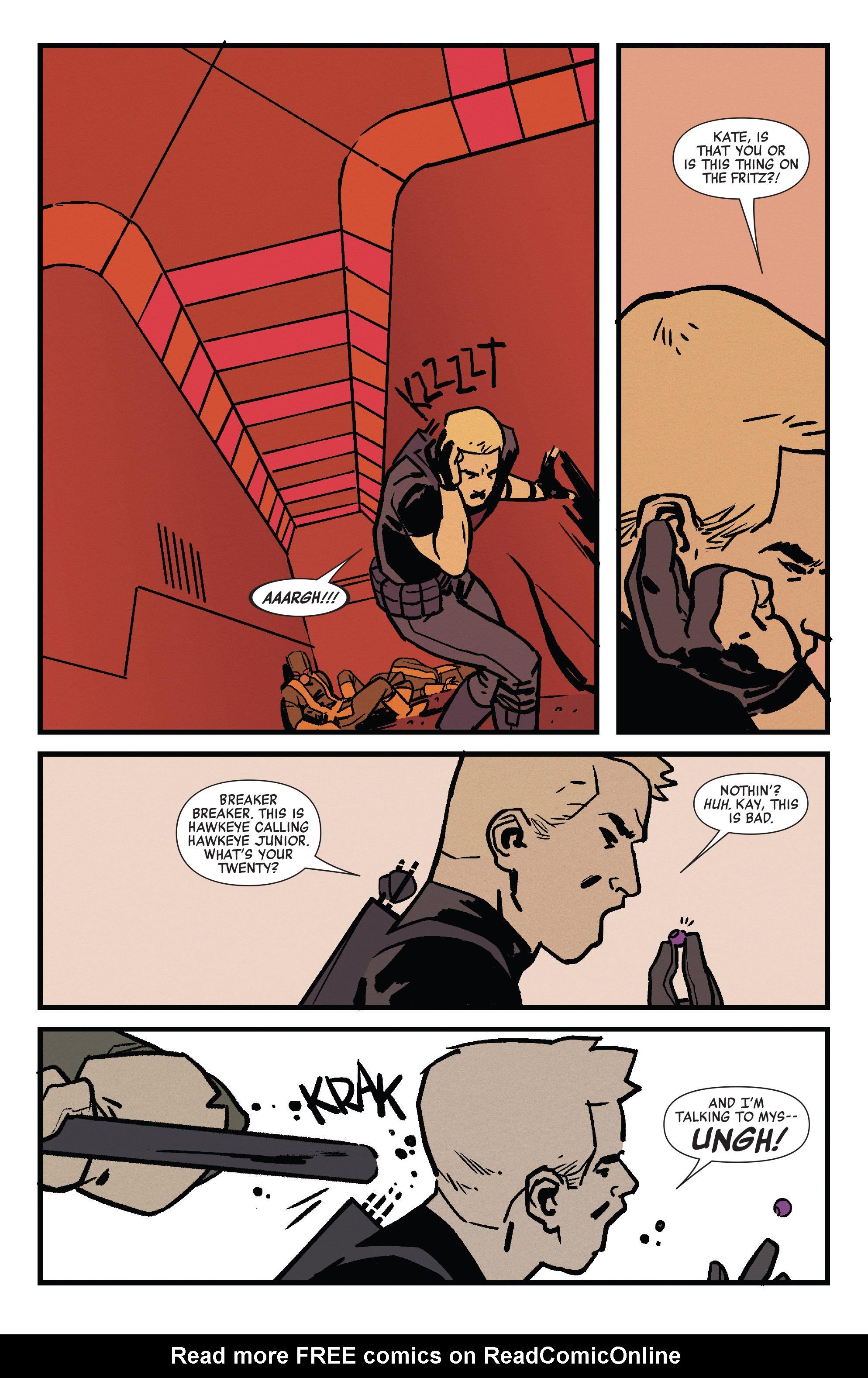 Read online All-New Hawkeye (2015) comic -  Issue #2 - 10