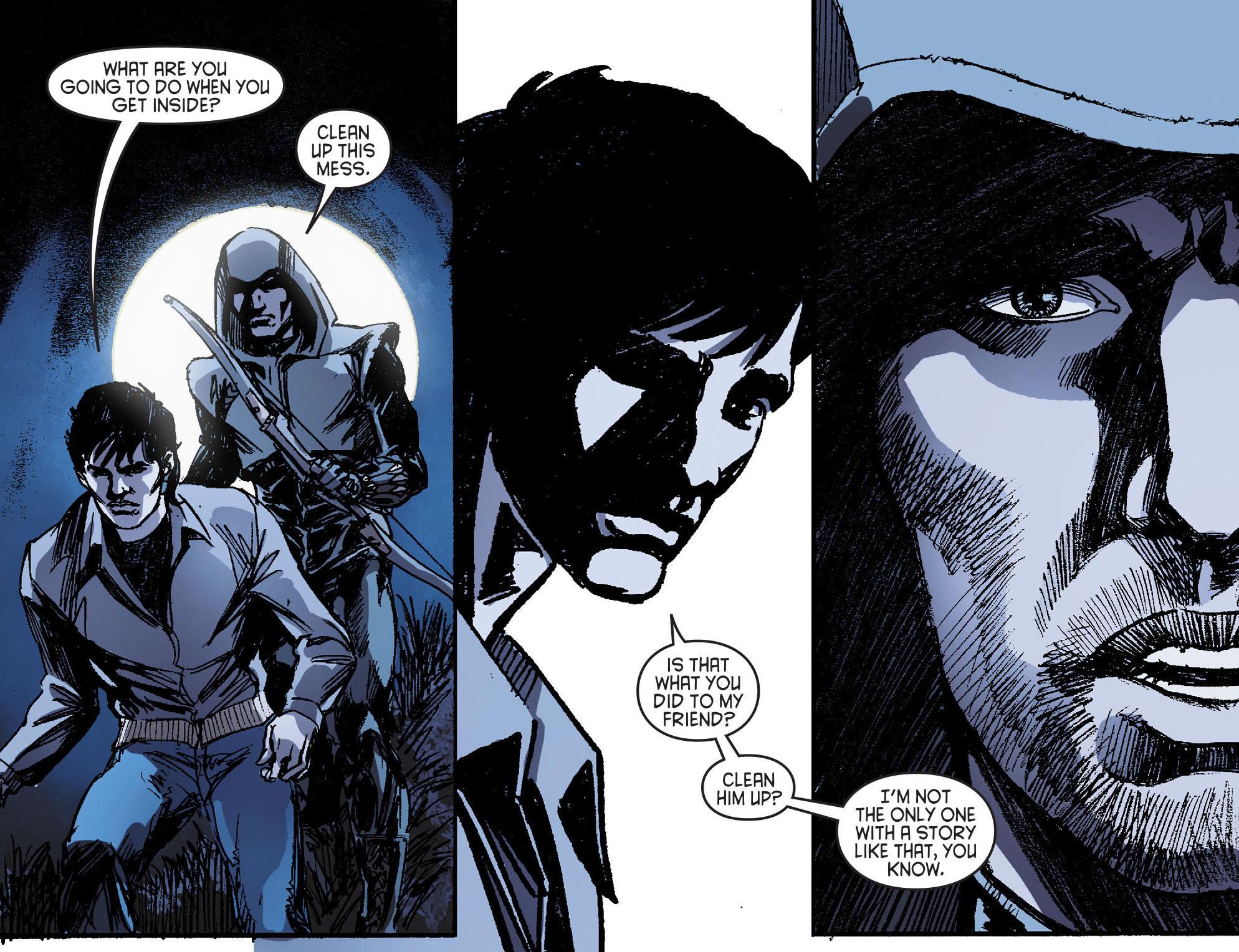 Read online Arrow [II] comic -  Issue #16 - 11