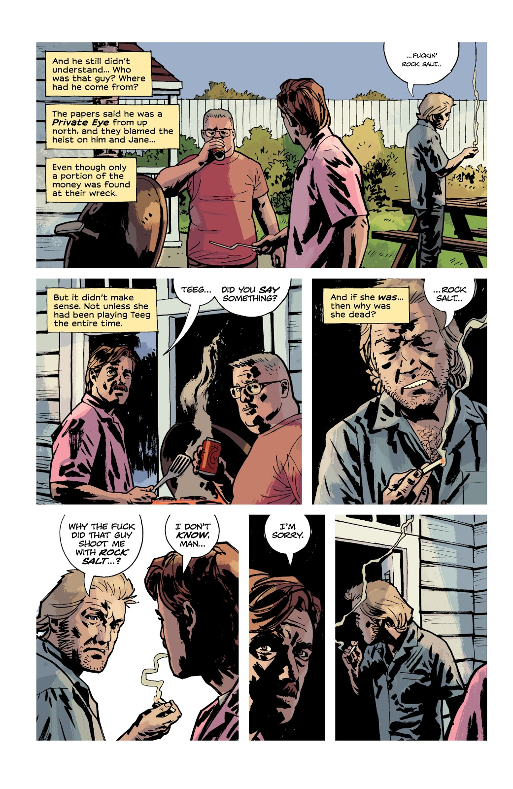 Read online Criminal (2019) comic -  Issue #12 - 19