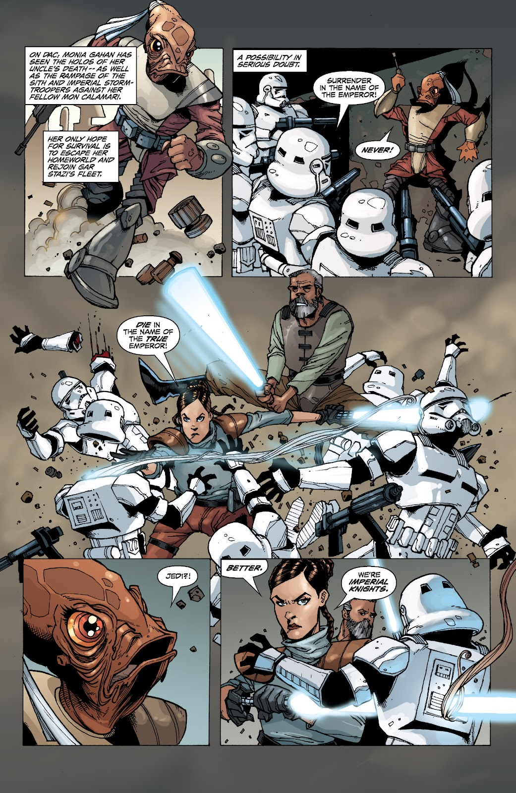 Read online Star Wars Legends: Legacy - Epic Collection comic -  Issue # TPB 2 (Part 1) - 85