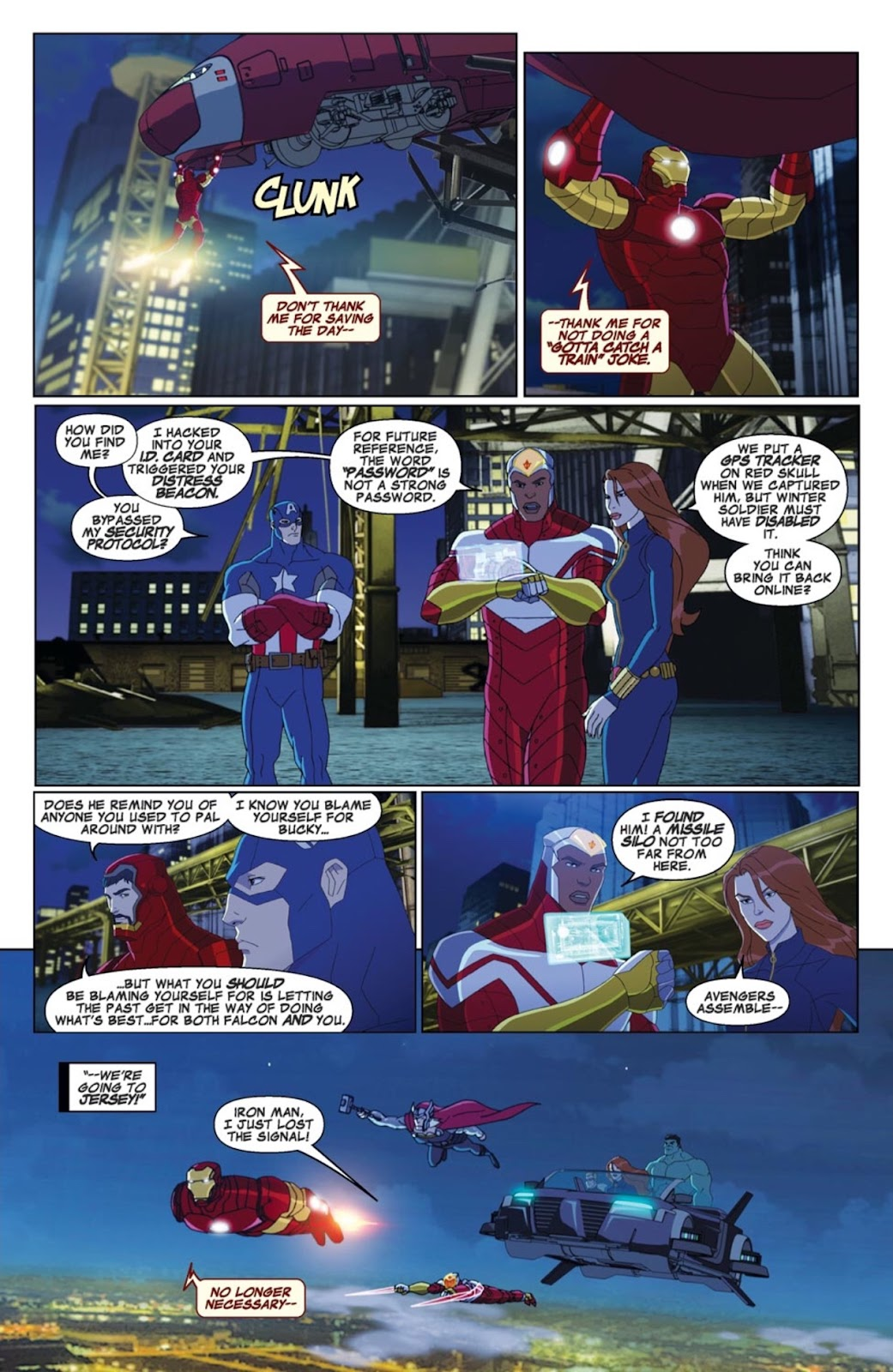 Read online Marvel Universe Avengers Assemble Season 2 comic -  Issue #4 - 16