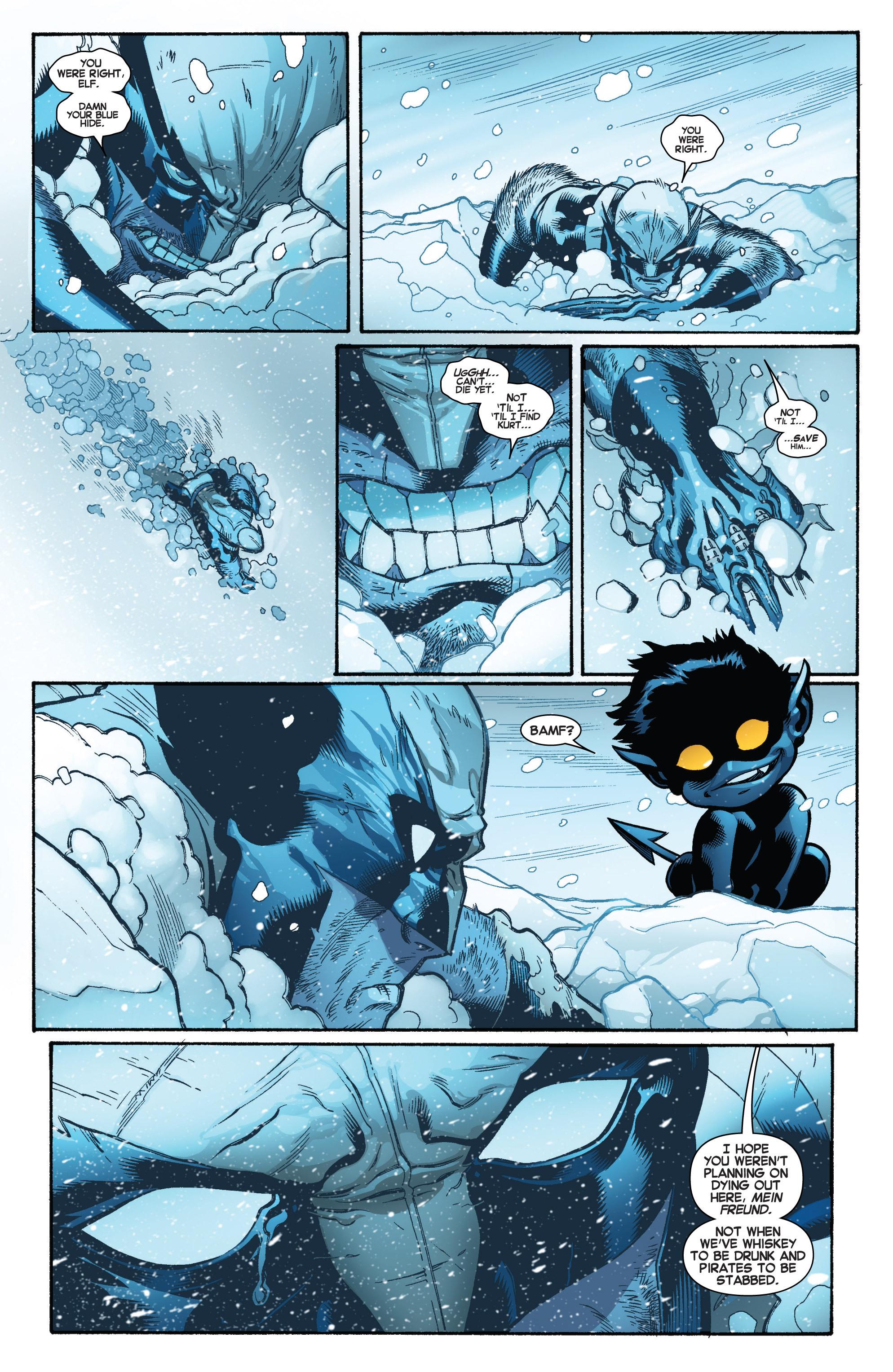 Read online Amazing X-Men (2014) comic -  Issue #4 - 19