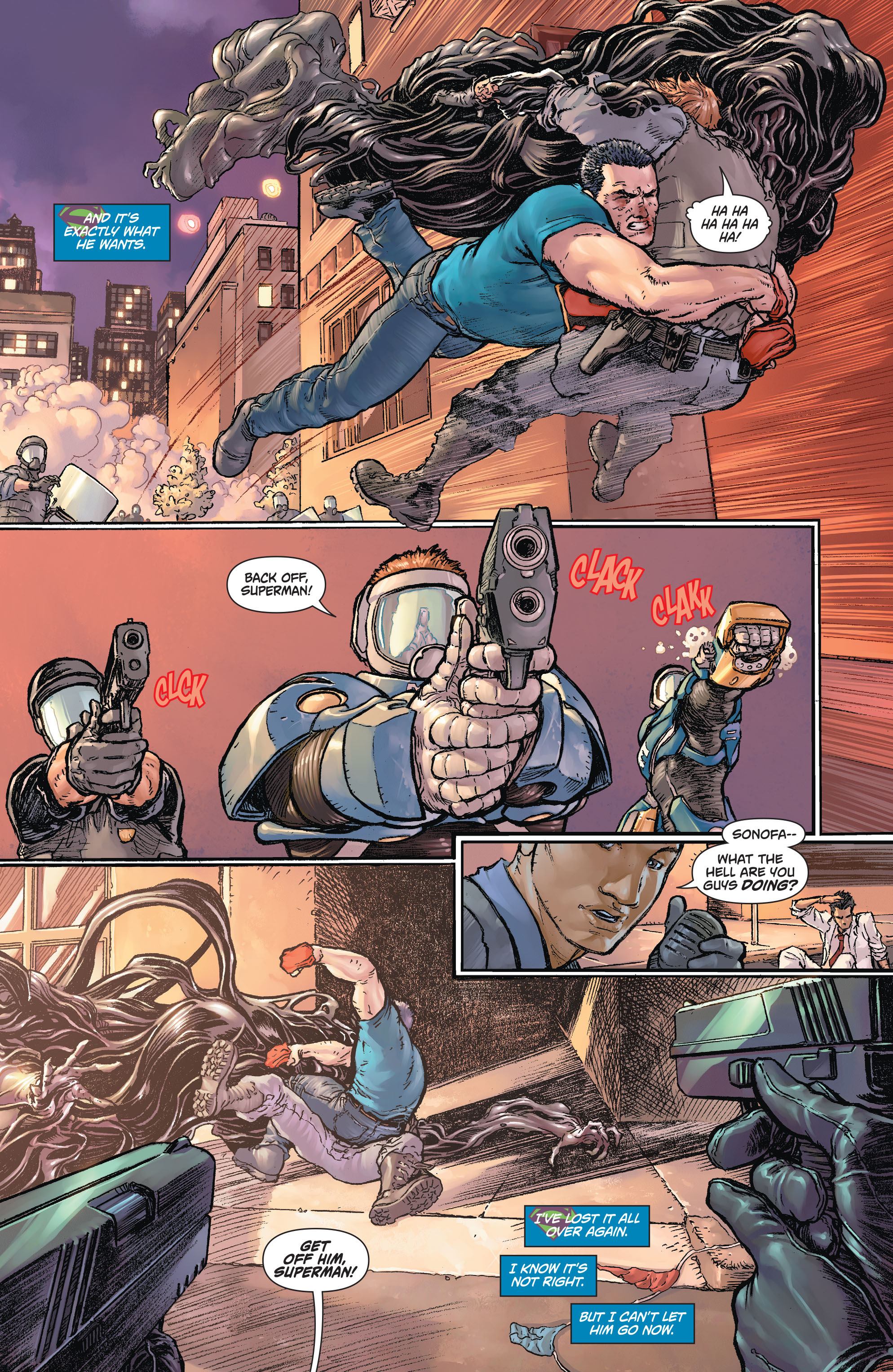 Read online Action Comics (2011) comic -  Issue #43 - 10