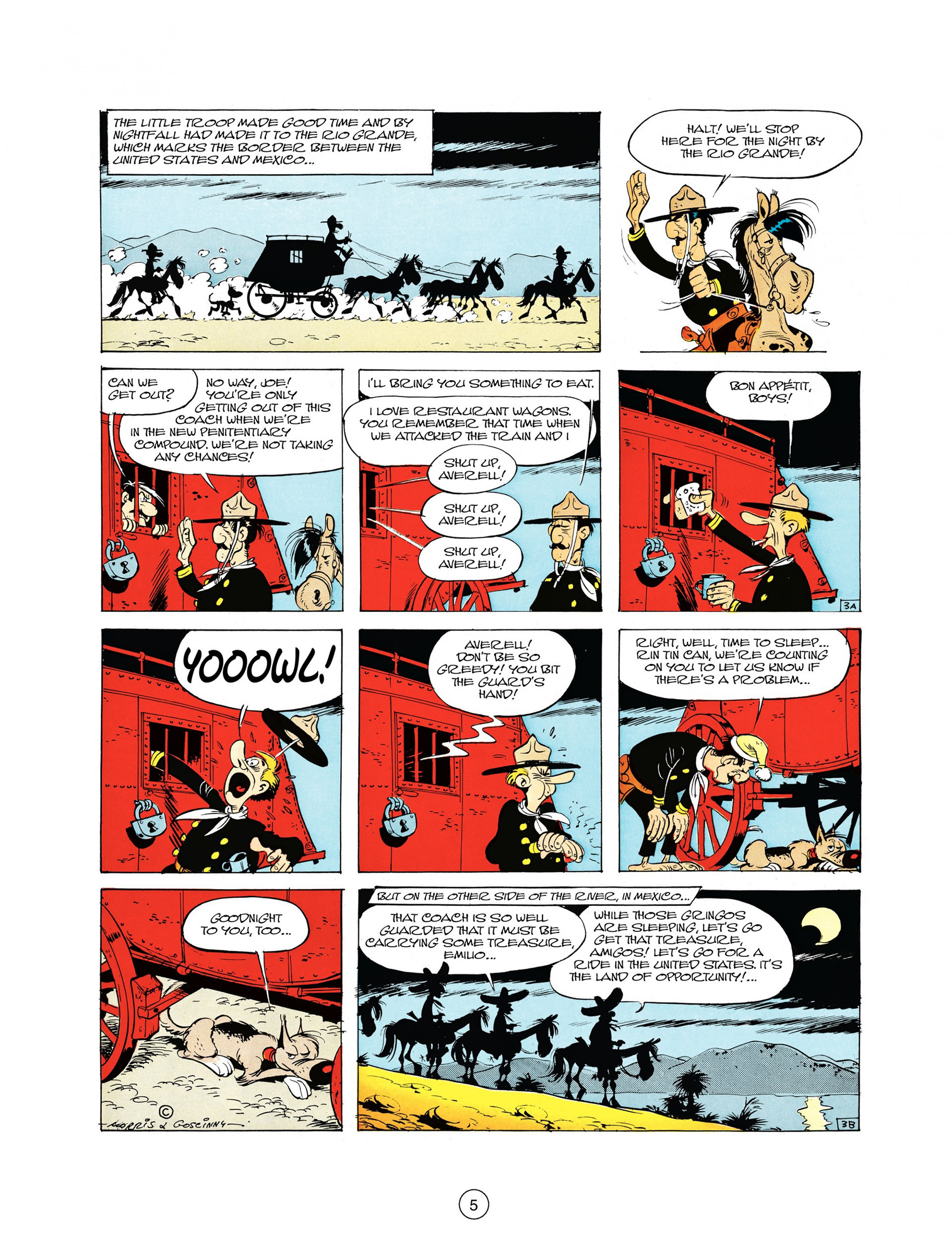 Read online A Lucky Luke Adventure comic -  Issue #10 - 5
