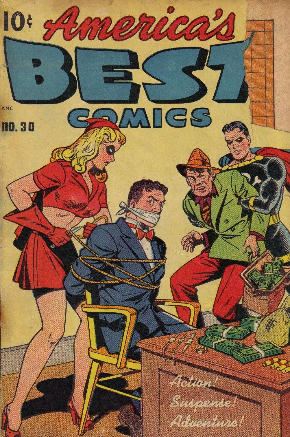 Americas Best Comics 30 Page 1