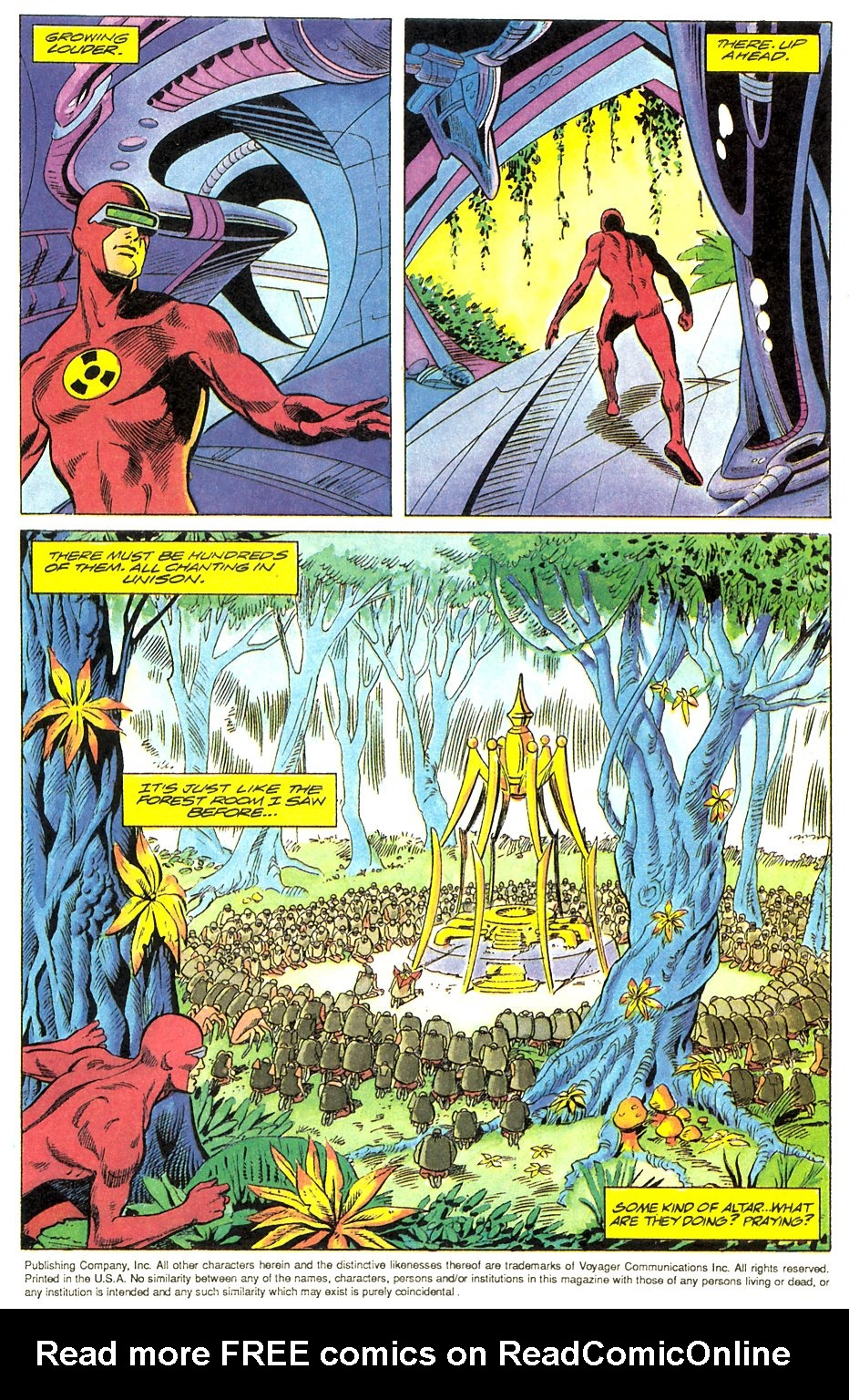Read online Solar, Man of the Atom comic -  Issue #17 - 5