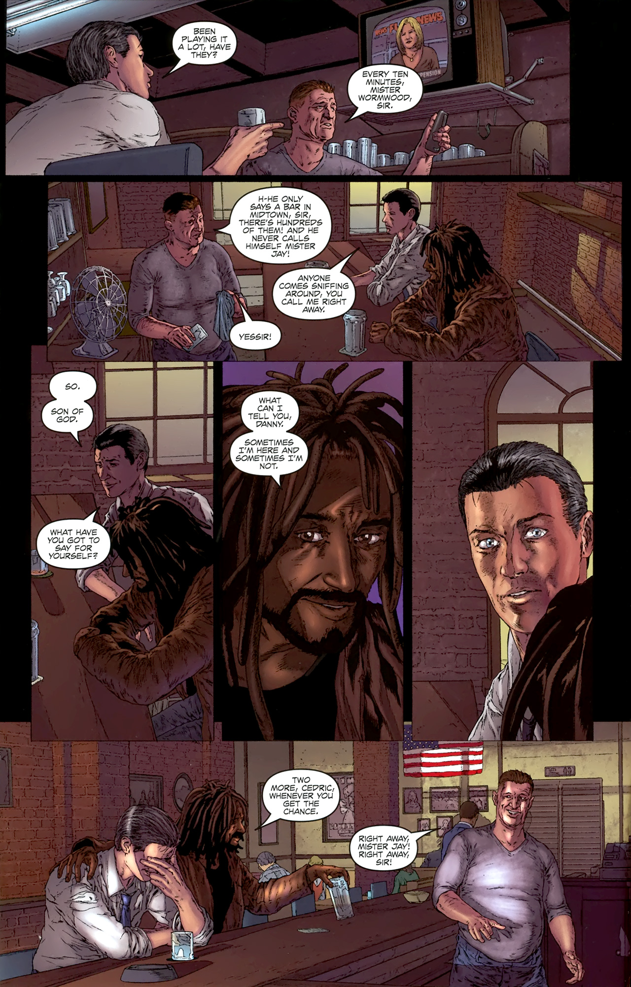 Read online Chronicles of Wormwood: The Last Battle comic -  Issue #4 - 5