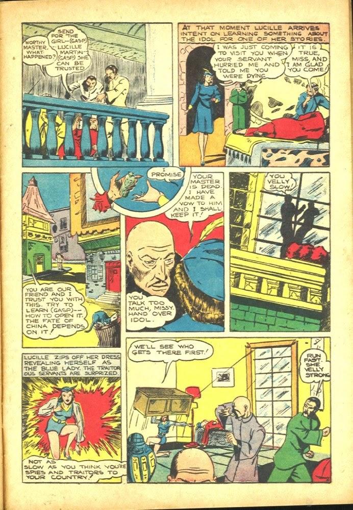 Read online Amazing Man Comics comic -  Issue #25 - 53