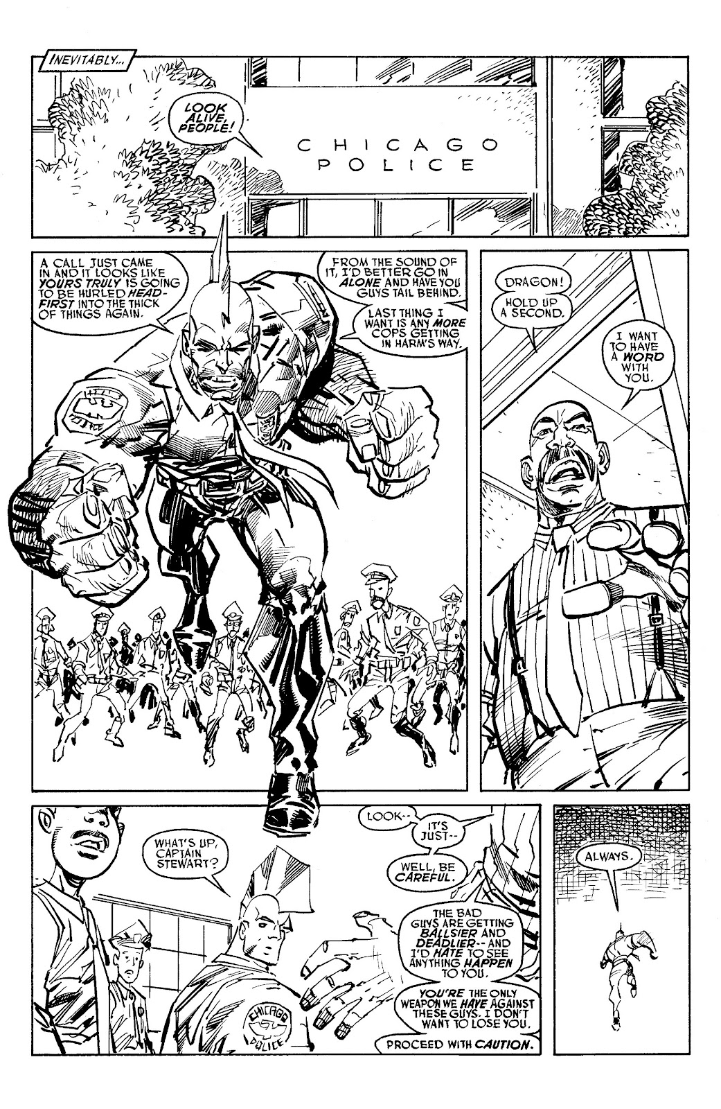 Read online Savage Dragon Archives comic -  Issue # TPB 6 (Part 6) - 2