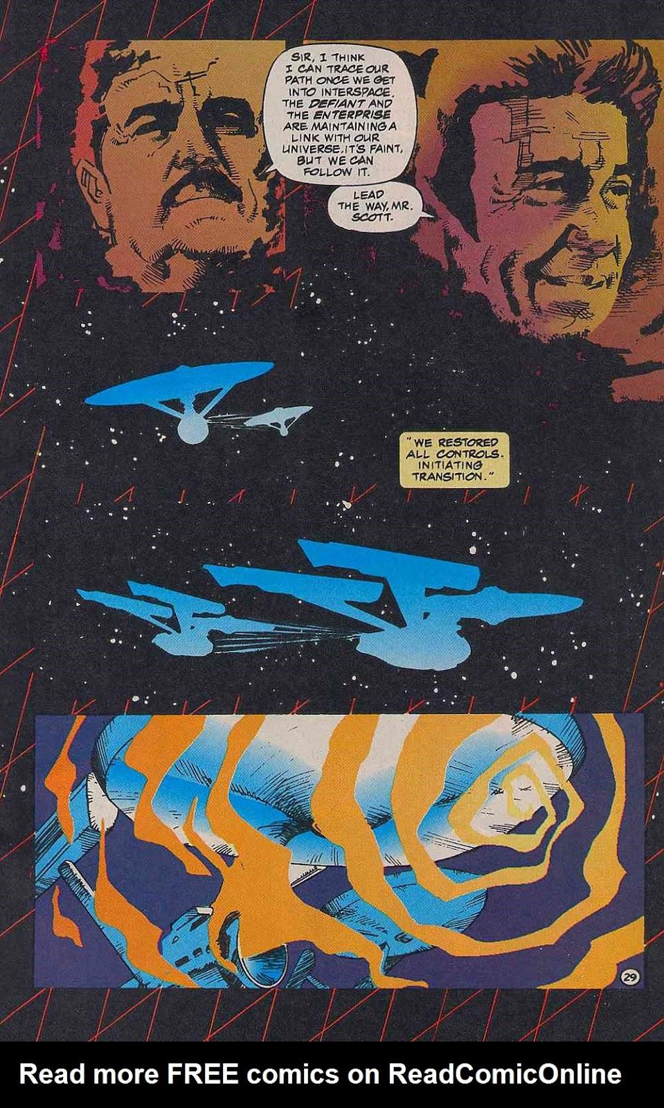 Read online Star Trek (1989) comic -  Issue # _Special 2 - 31