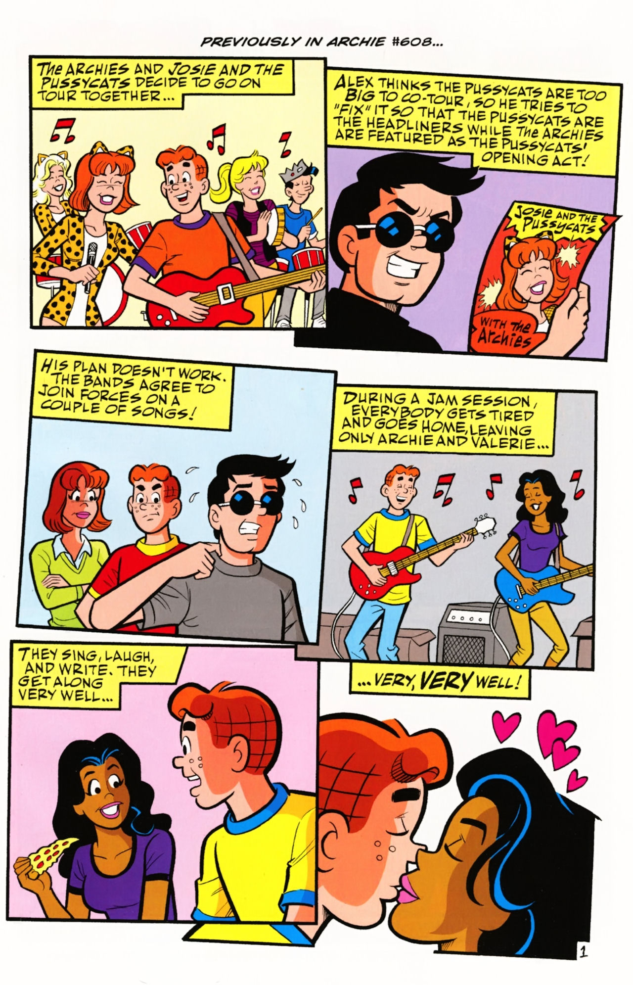 Read online Archie (1960) comic -  Issue #609 - 3