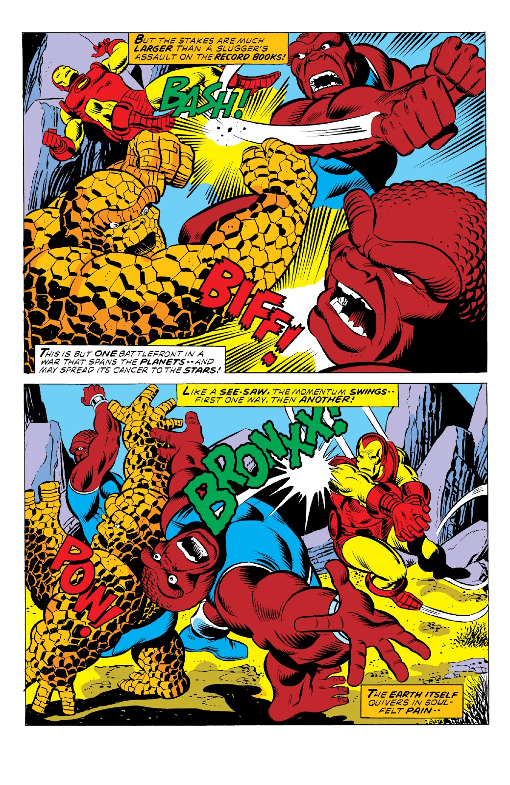 Read online Marvel Two-In-One Epic Collection: Cry Monster comic -  Issue # TPB (Part 1) - 40