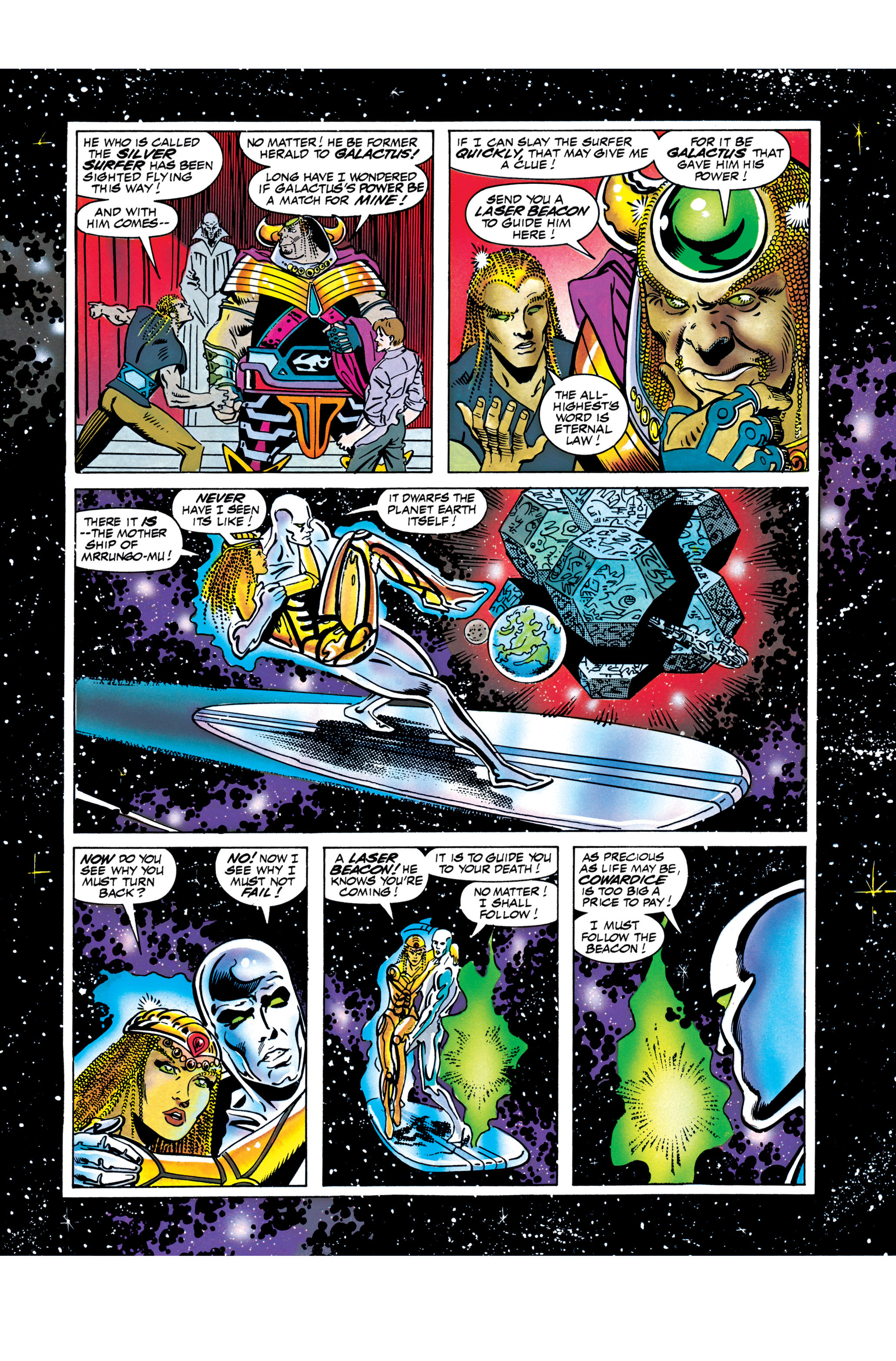 Read online Silver Surfer: Parable comic -  Issue # TPB - 108