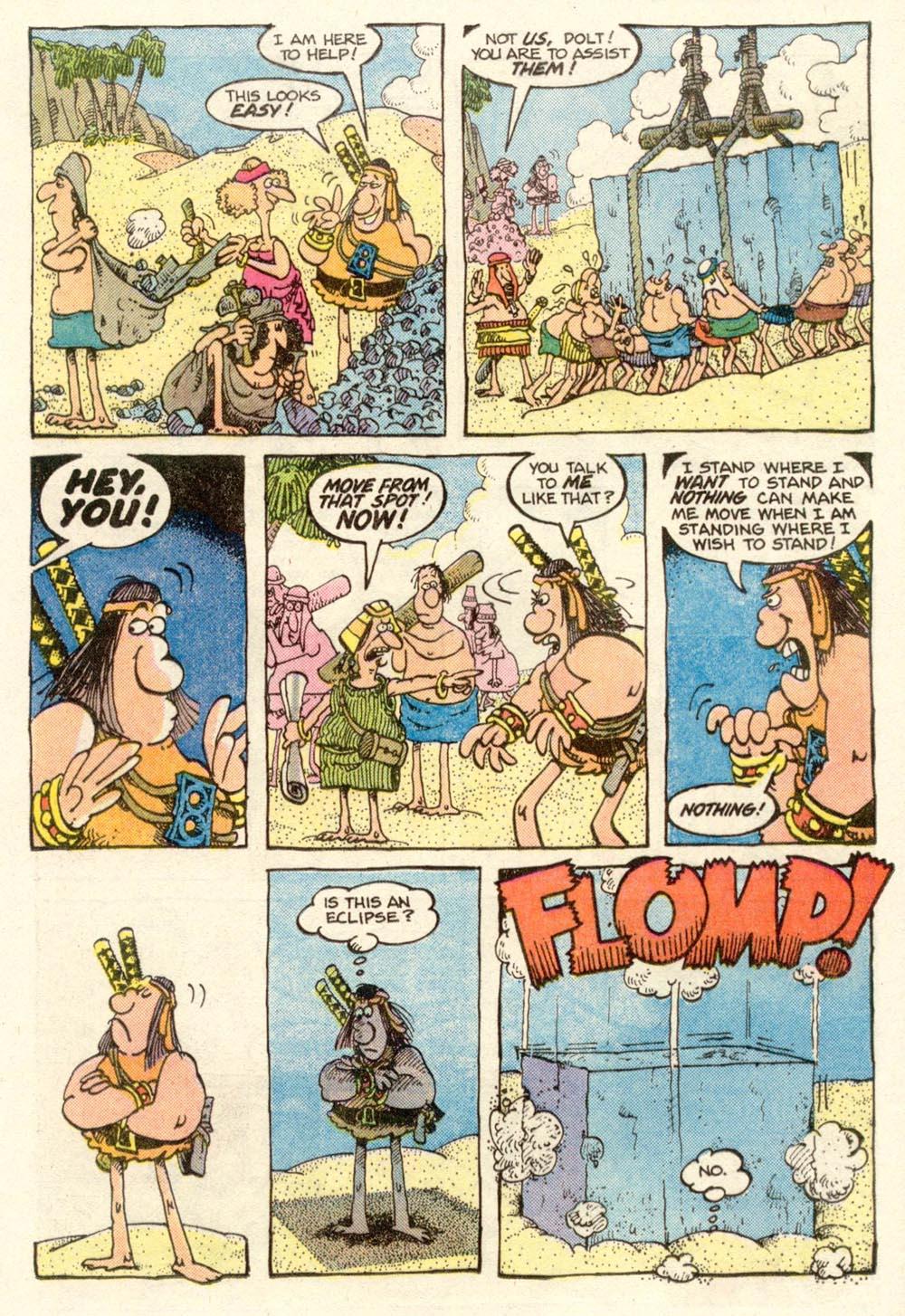 Read online Sergio Aragonés Groo the Wanderer comic -  Issue #14 - 11