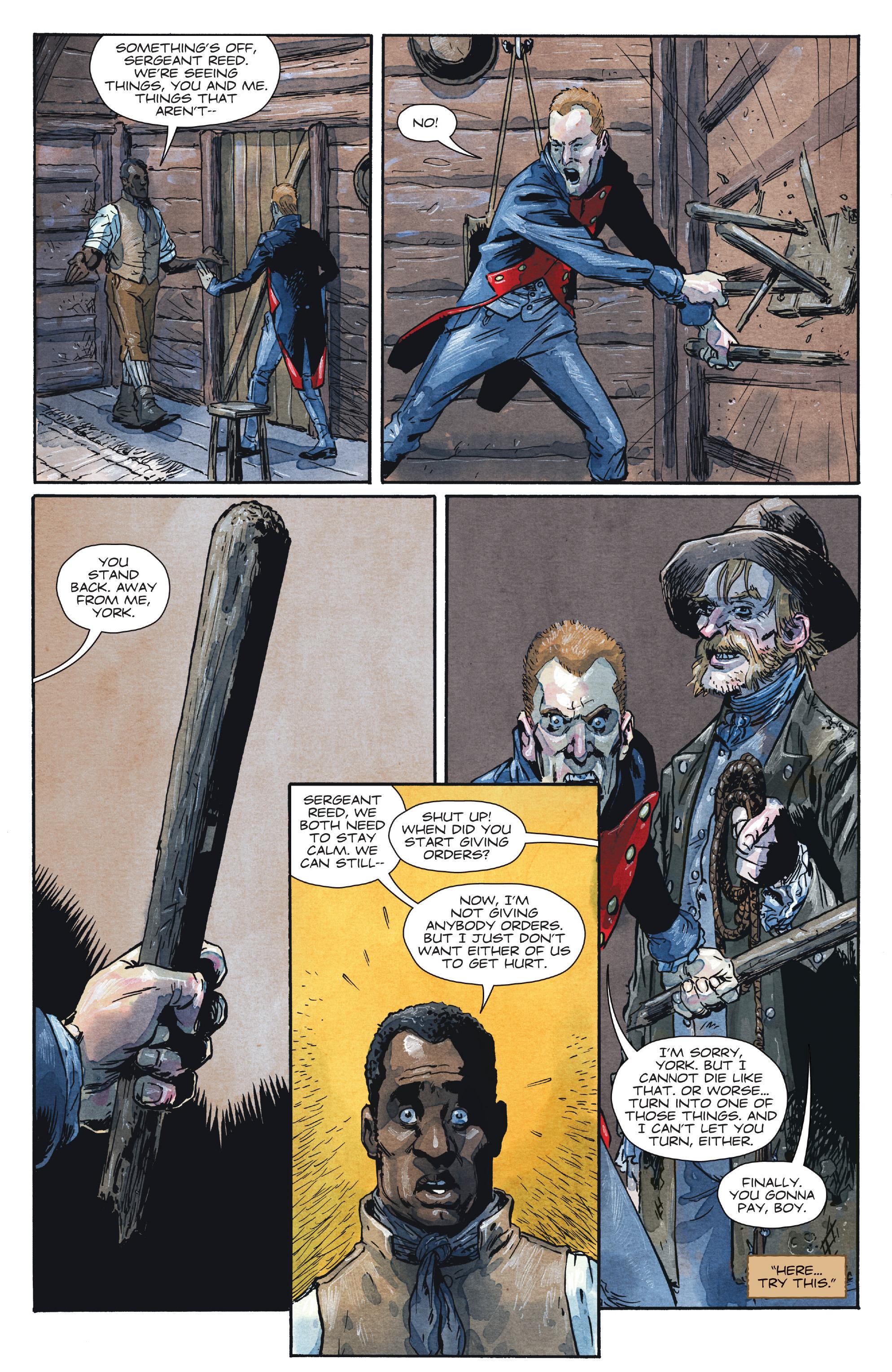 Read online Manifest Destiny comic -  Issue #28 - 13