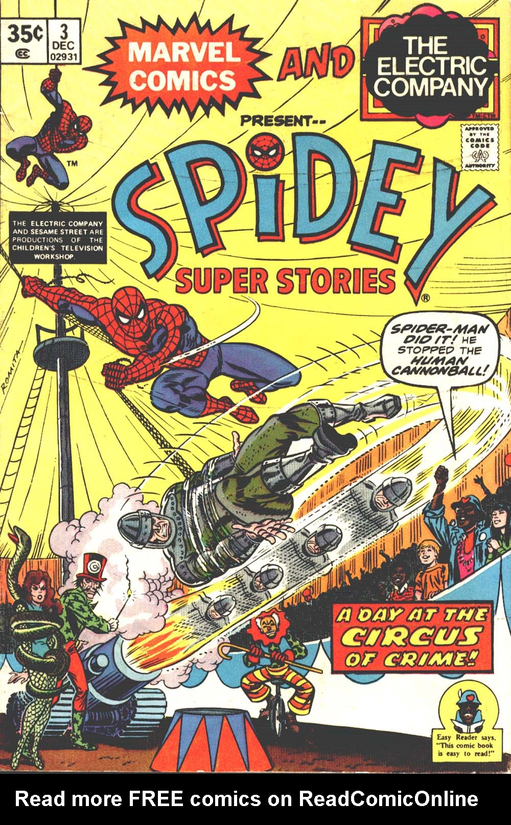 Spidey Super Stories 3 Page 1