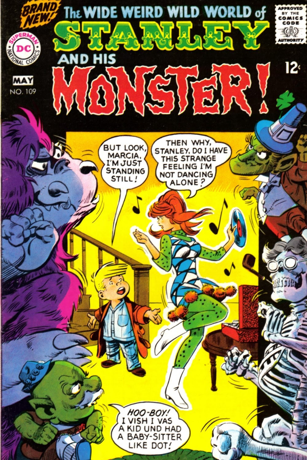 Stanley and His Monster (1968) issue 109 - Page 1