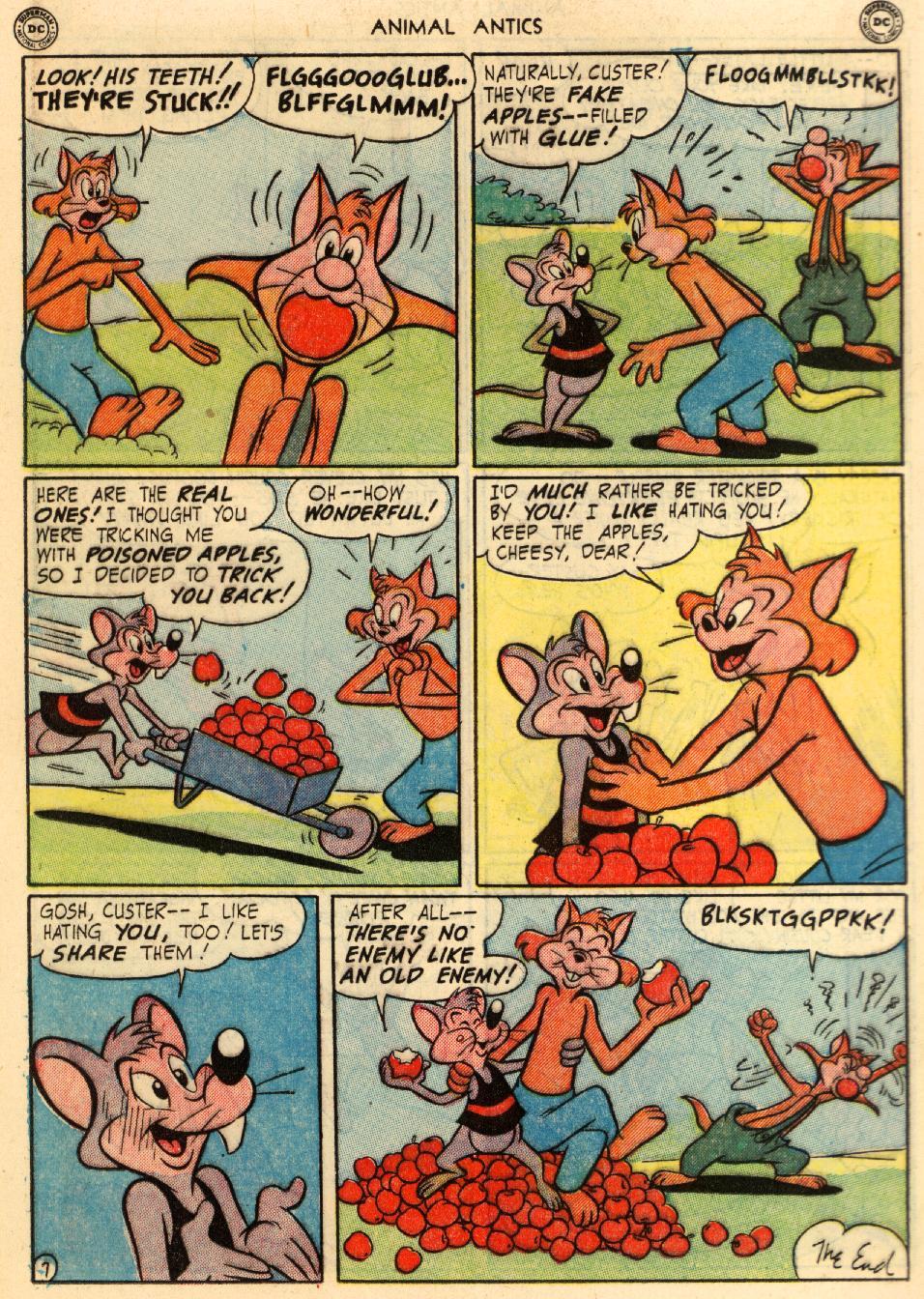 Read online Animal Antics comic -  Issue #29 - 16