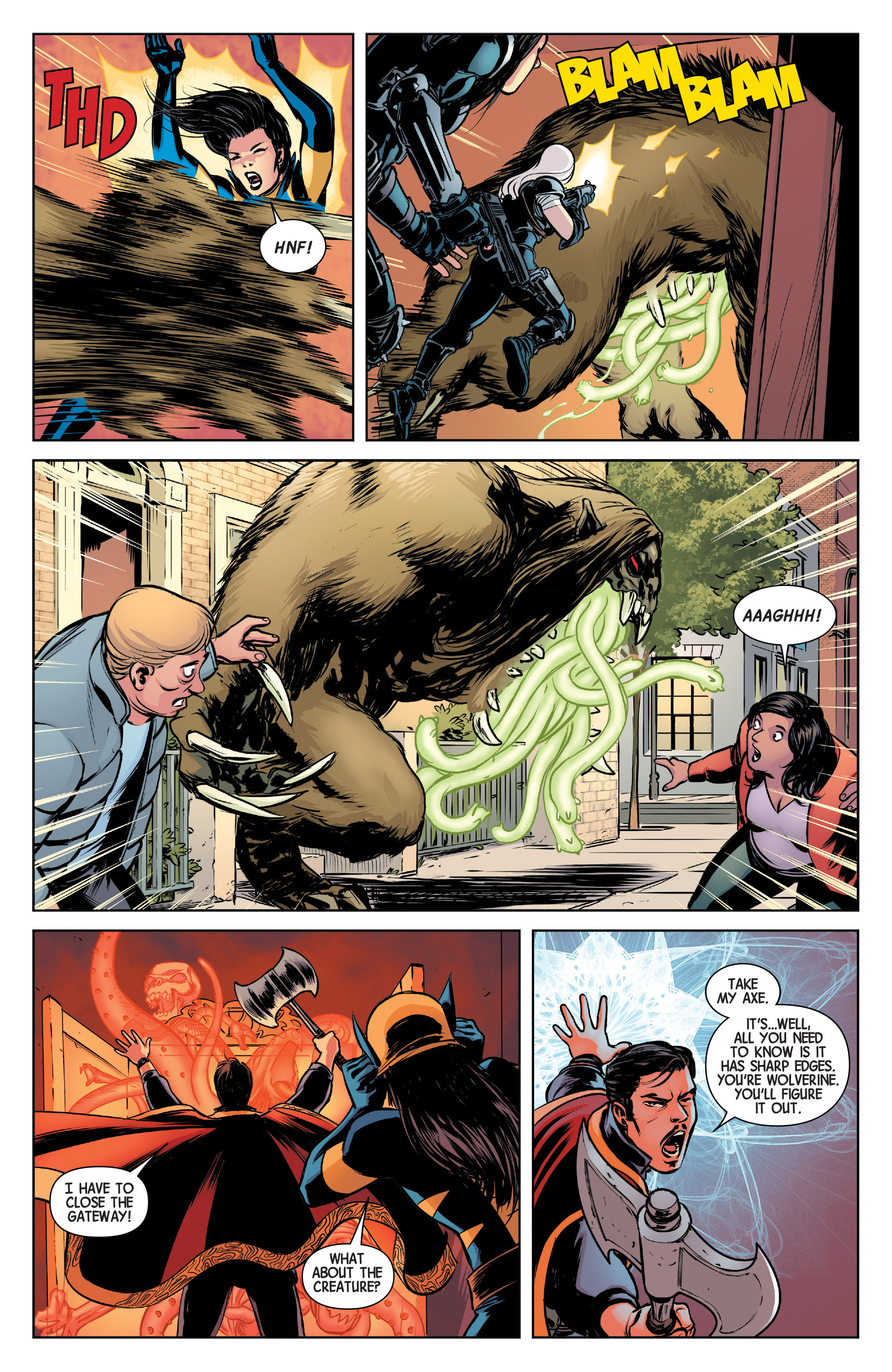 Read online All-New Wolverine (2016) comic -  Issue #4 - 11