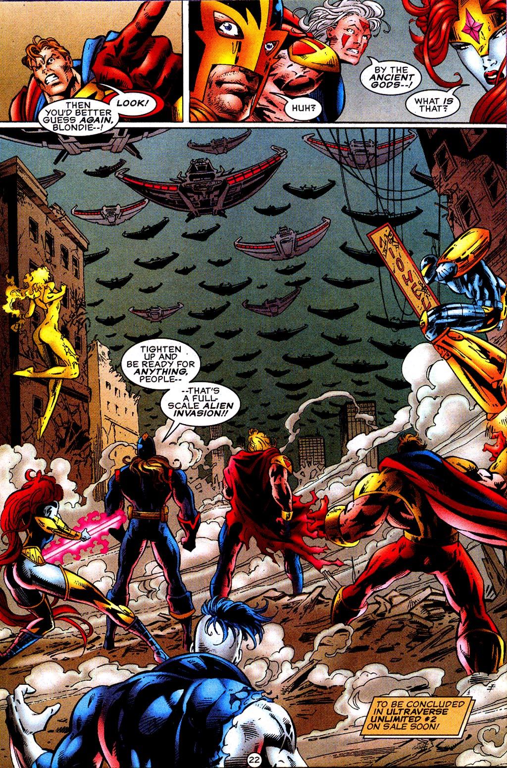 Read online UltraForce (1995) comic -  Issue #12 - 24