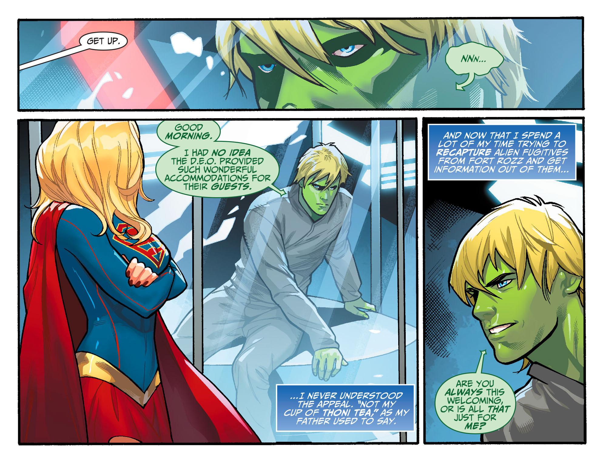 Read online Adventures of Supergirl comic -  Issue #6 - 4