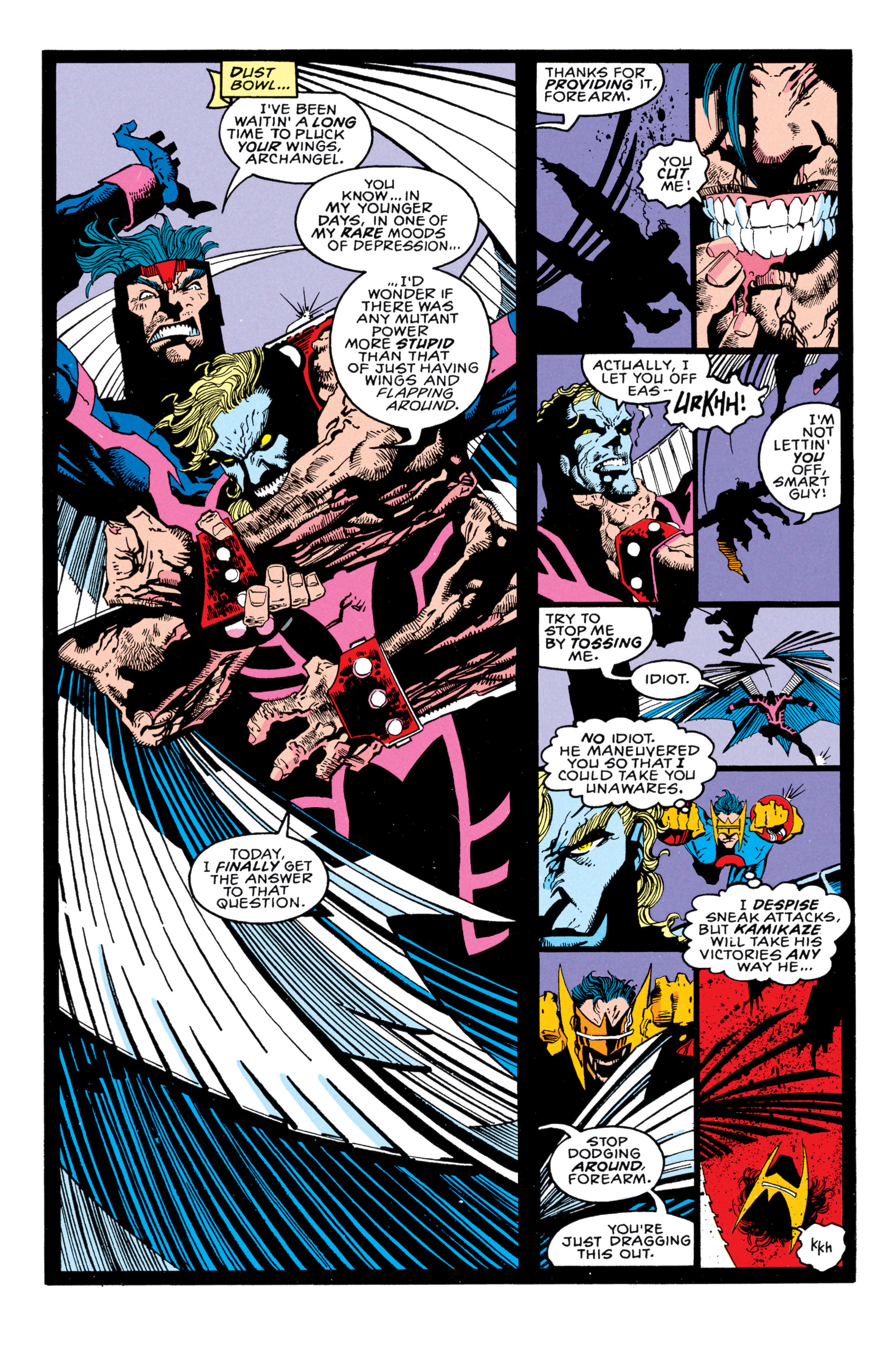 Read online X-Factor (1986) comic -  Issue #85 - 16