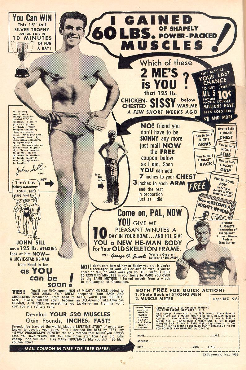 Read online Adventure Comics (1938) comic -  Issue #263 - 2