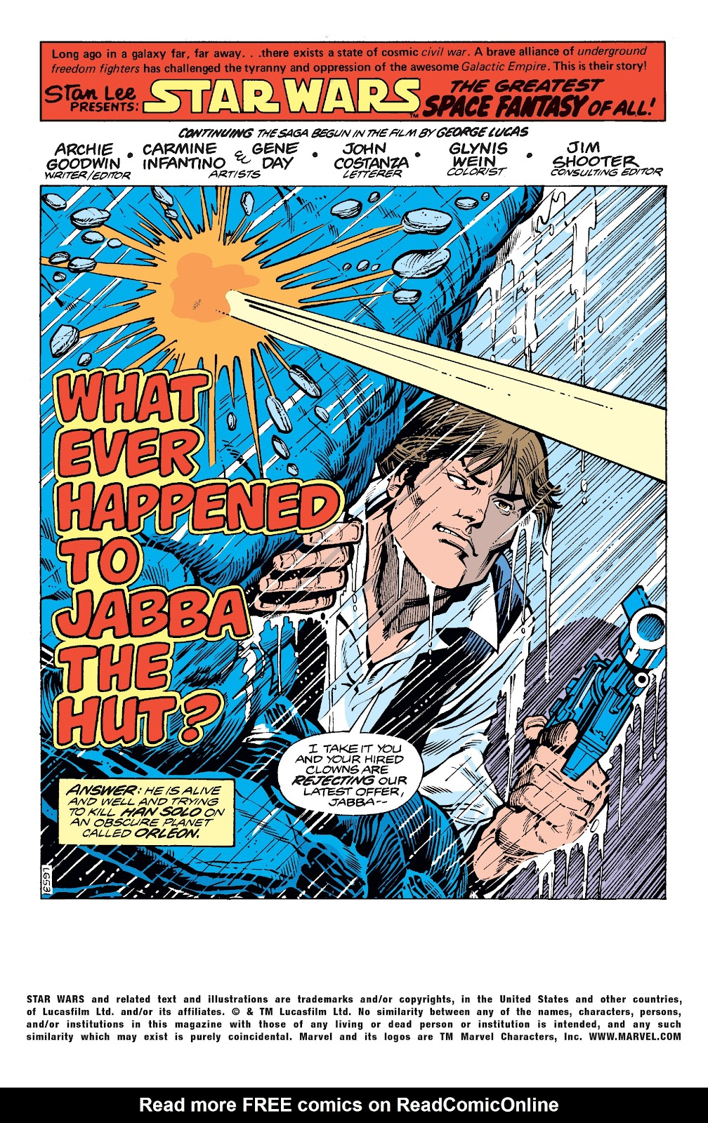 Read online Star Wars Legends: The Original Marvel Years - Epic Collection comic -  Issue # TPB 2 (Part 1) - 79