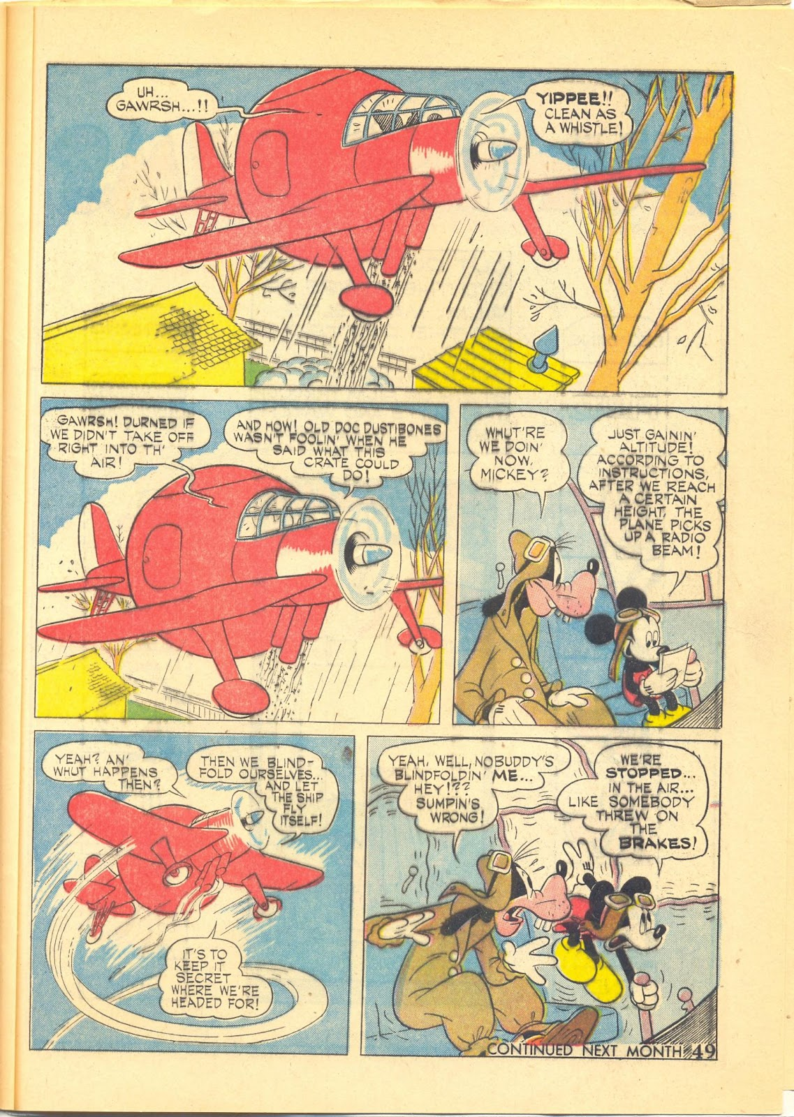 Walt Disney's Comics and Stories issue 40 - Page 51