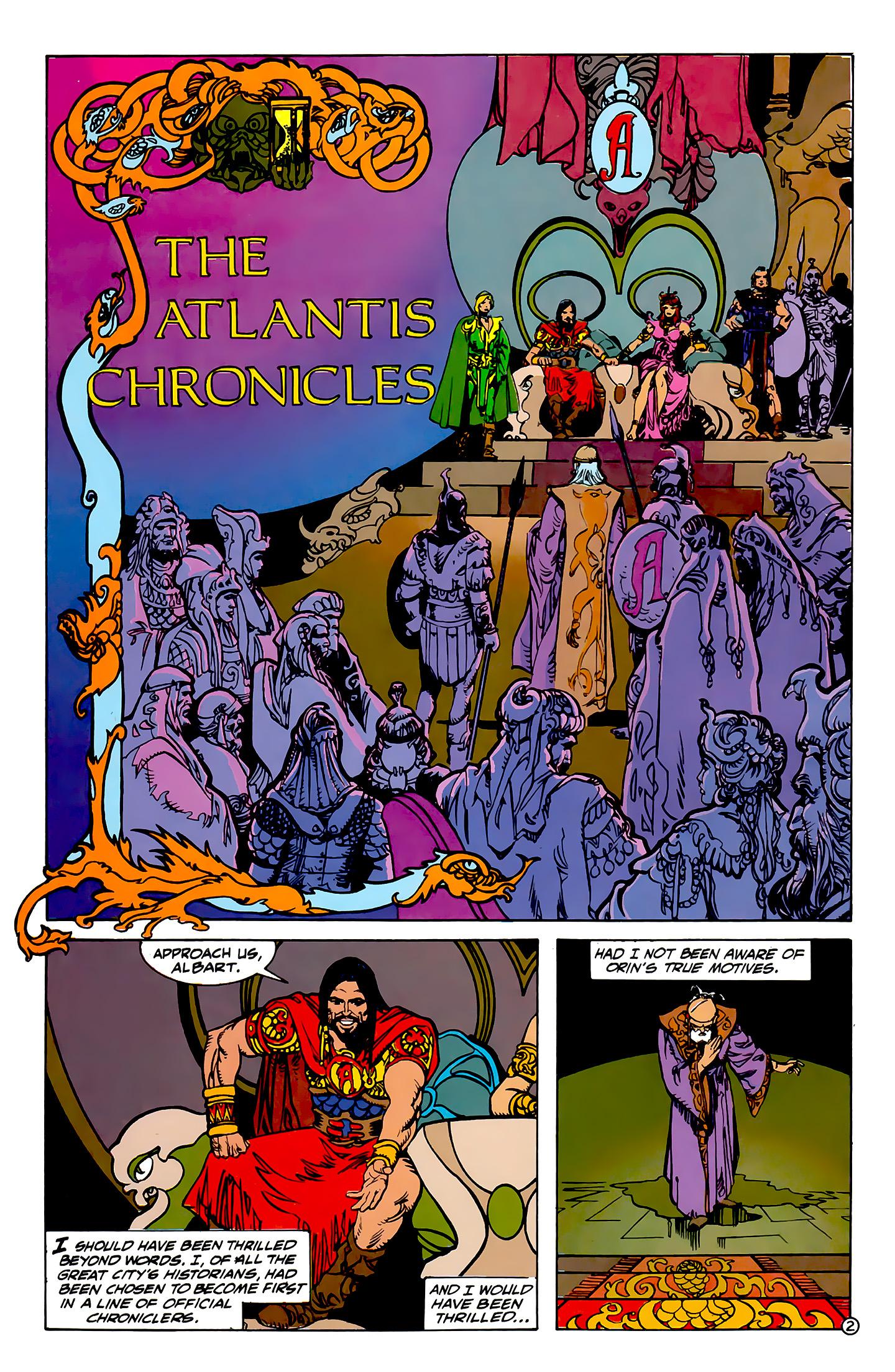 Read online Atlantis Chronicles comic -  Issue #1 - 3