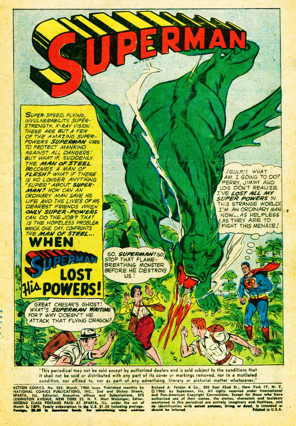 Read online Action Comics (1938) comic -  Issue #262 - 3