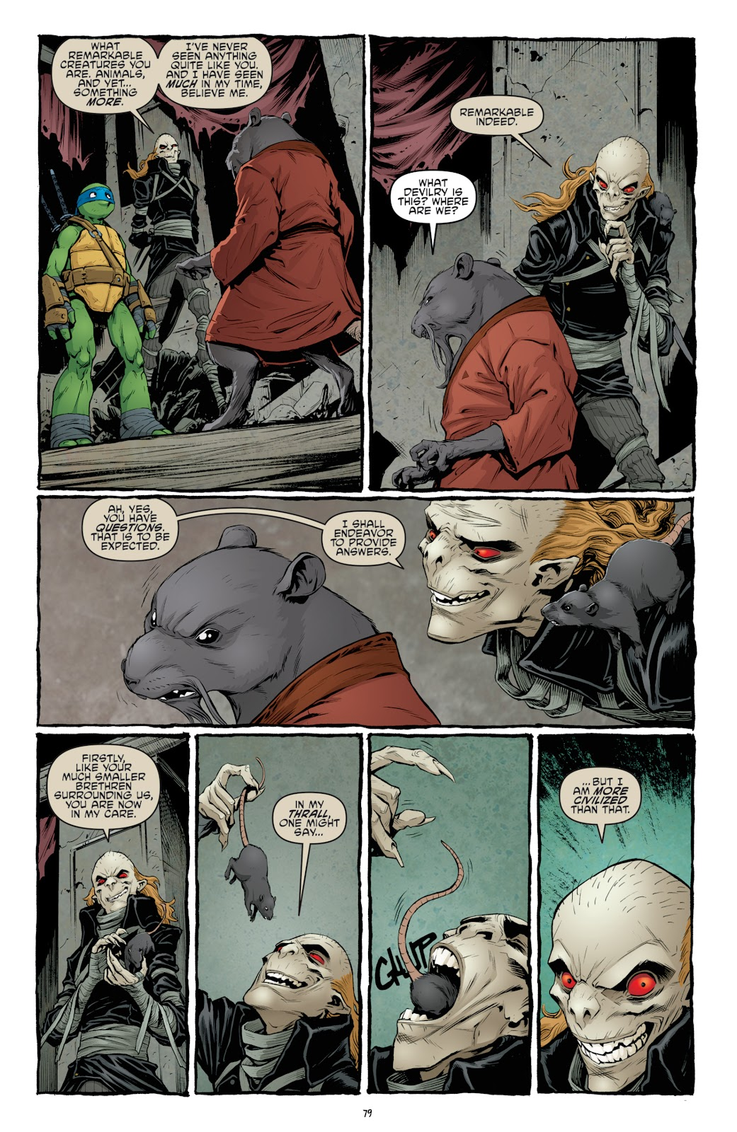 Read online Teenage Mutant Ninja Turtles: The IDW Collection comic -  Issue # TPB 4 (Part 3) - 86
