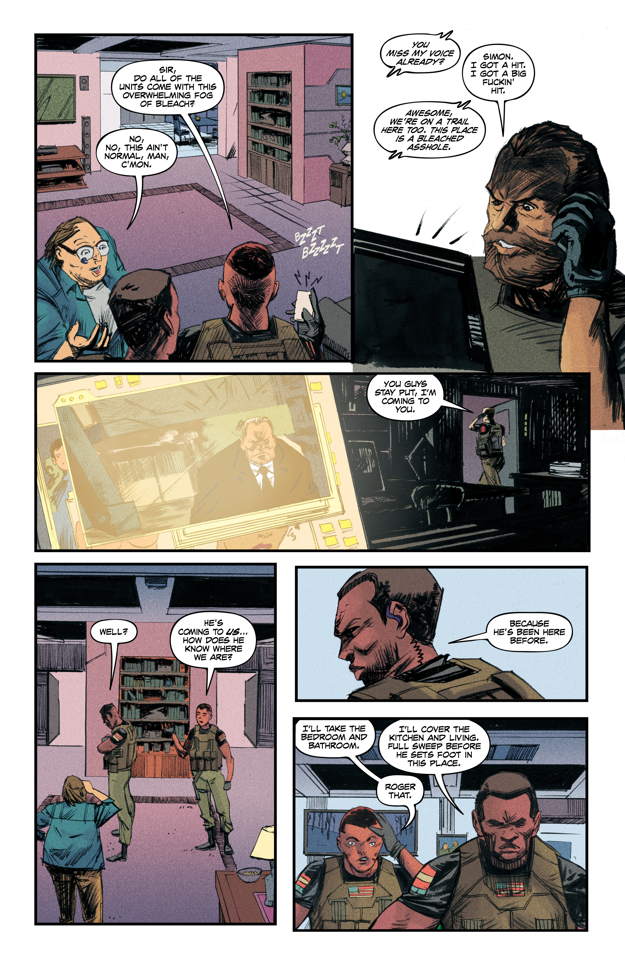 Read online Redline comic -  Issue #4 - 21