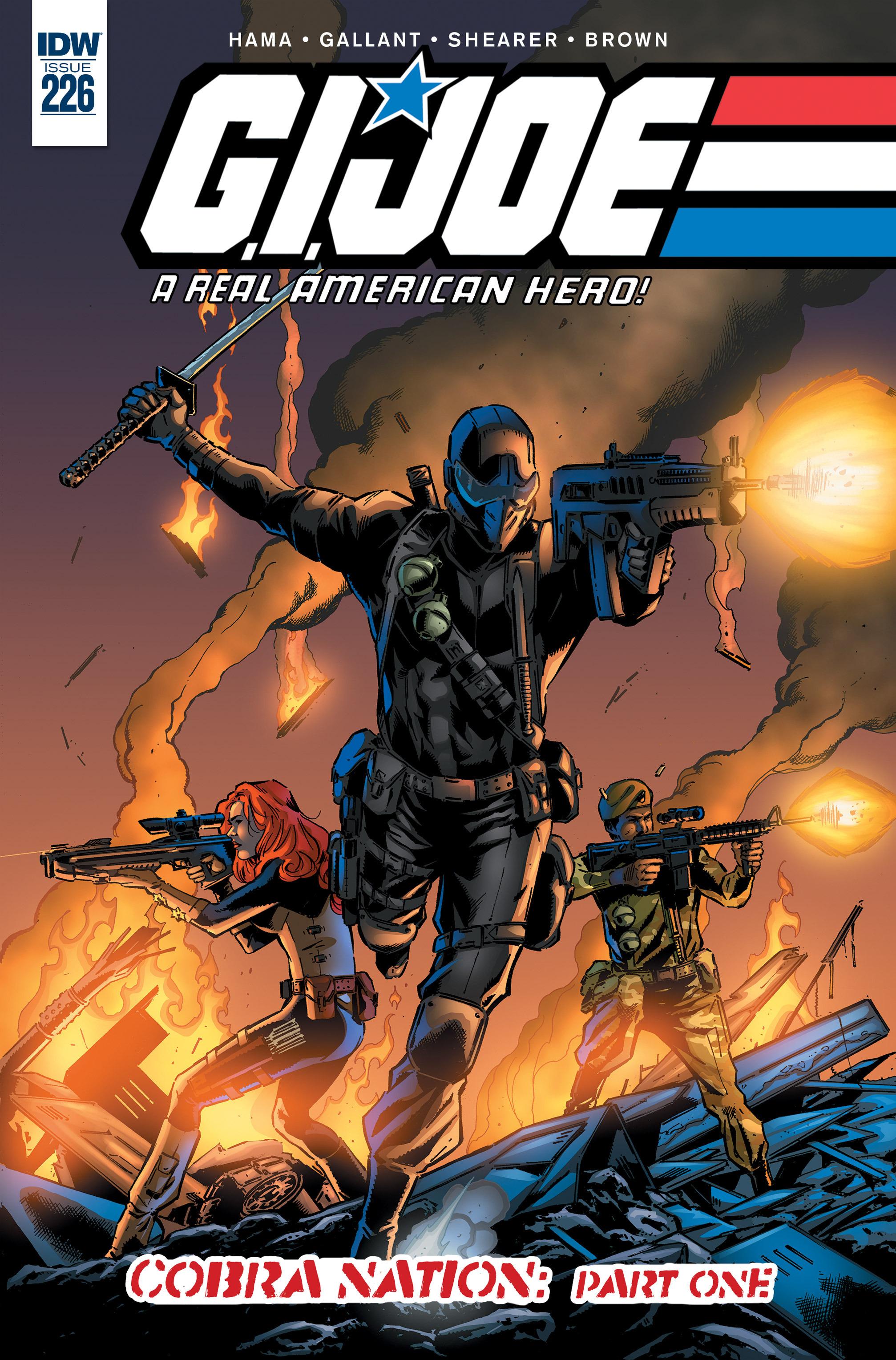 G.I. Joe: A Real American Hero 226 Page 1