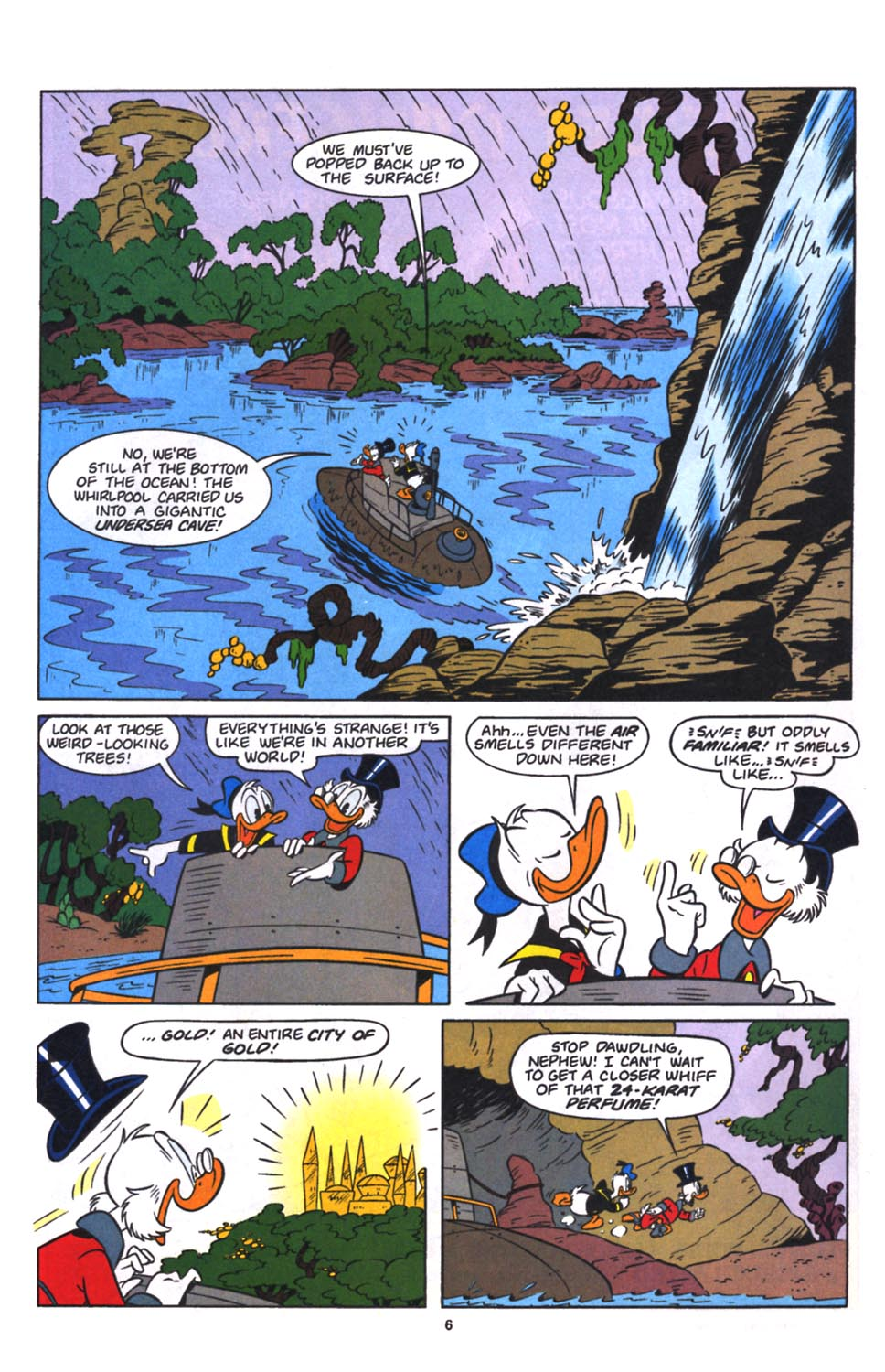 Read online Uncle Scrooge (1953) comic -  Issue #260 - 7