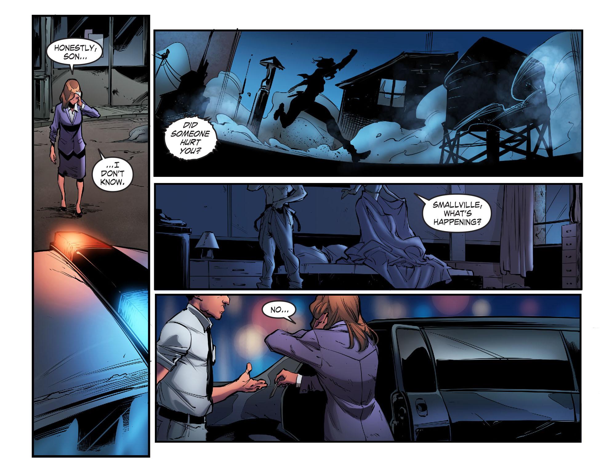 Read online Smallville: Season 11 comic -  Issue #56 - 21