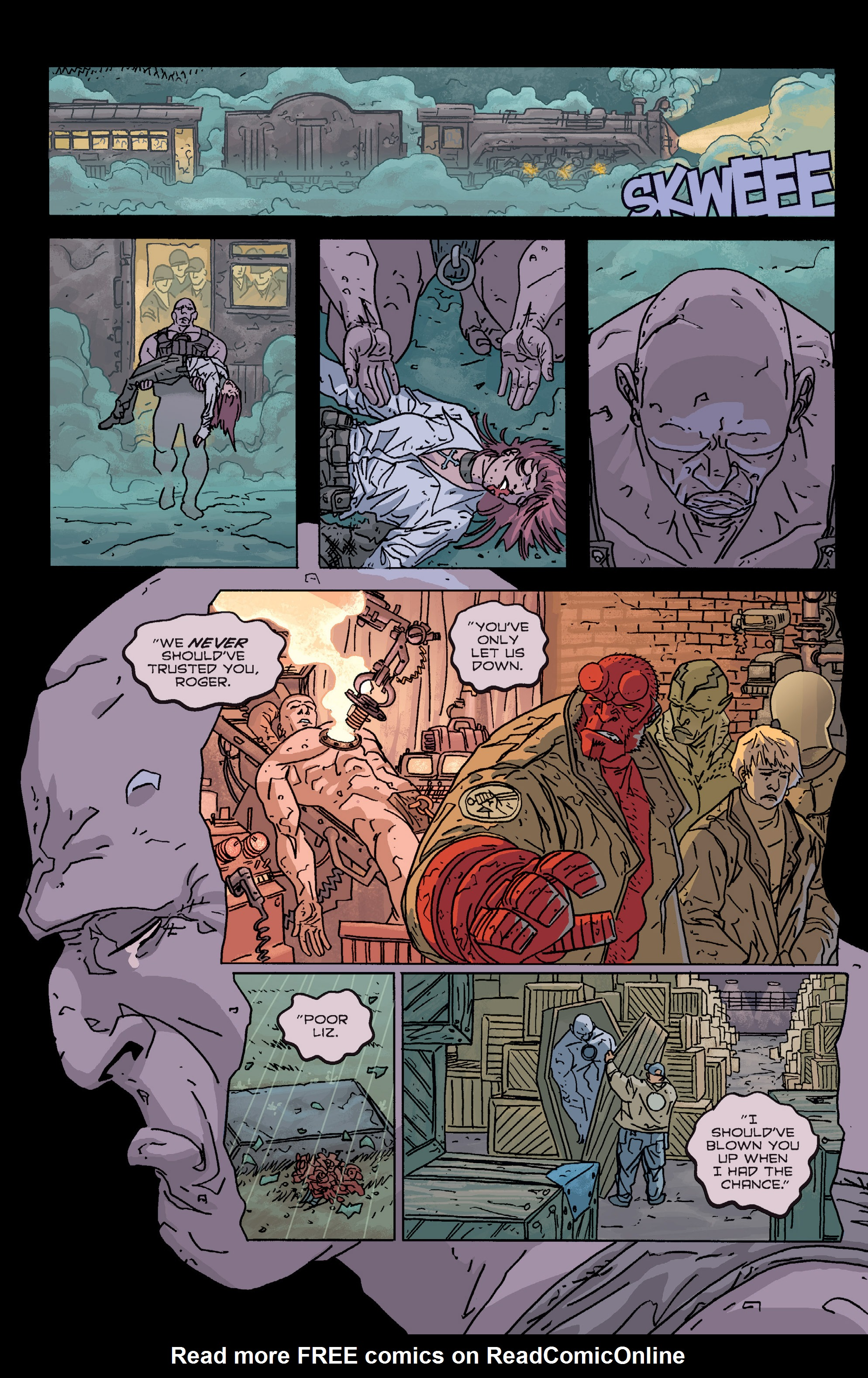 Read online B.P.R.D. (2003) comic -  Issue # TPB 2 - 79